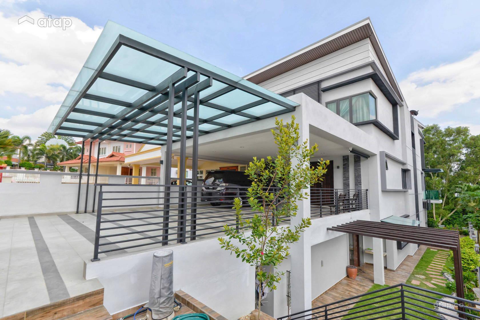 Modern Exterior @ Semi-D at Bukit Segar