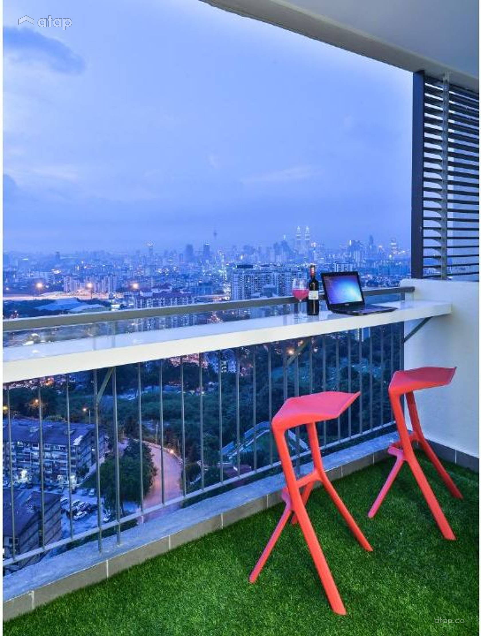 Contemporary Modern Balcony @ Residence - Cheras