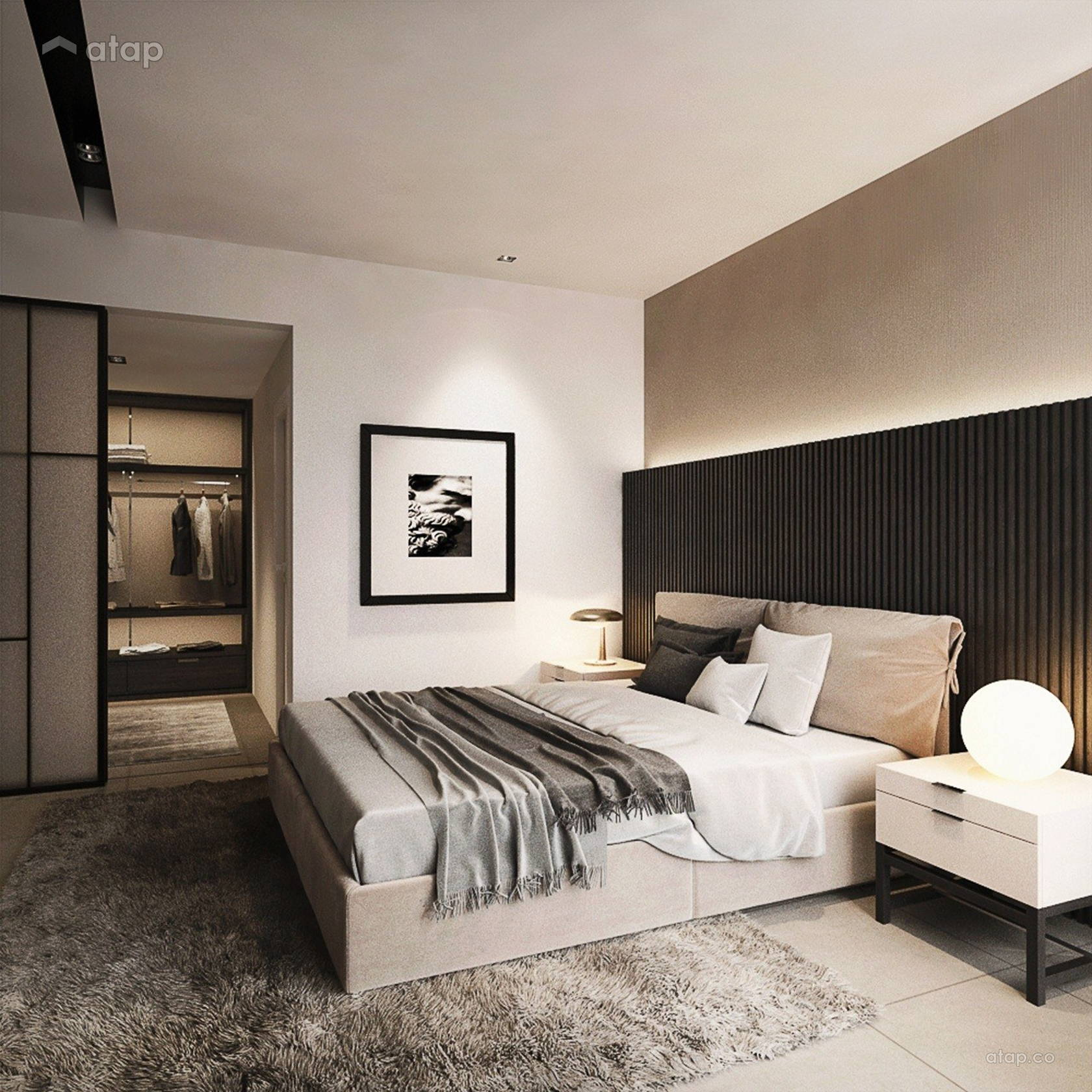 Contemporary Bedroom @ URBAN