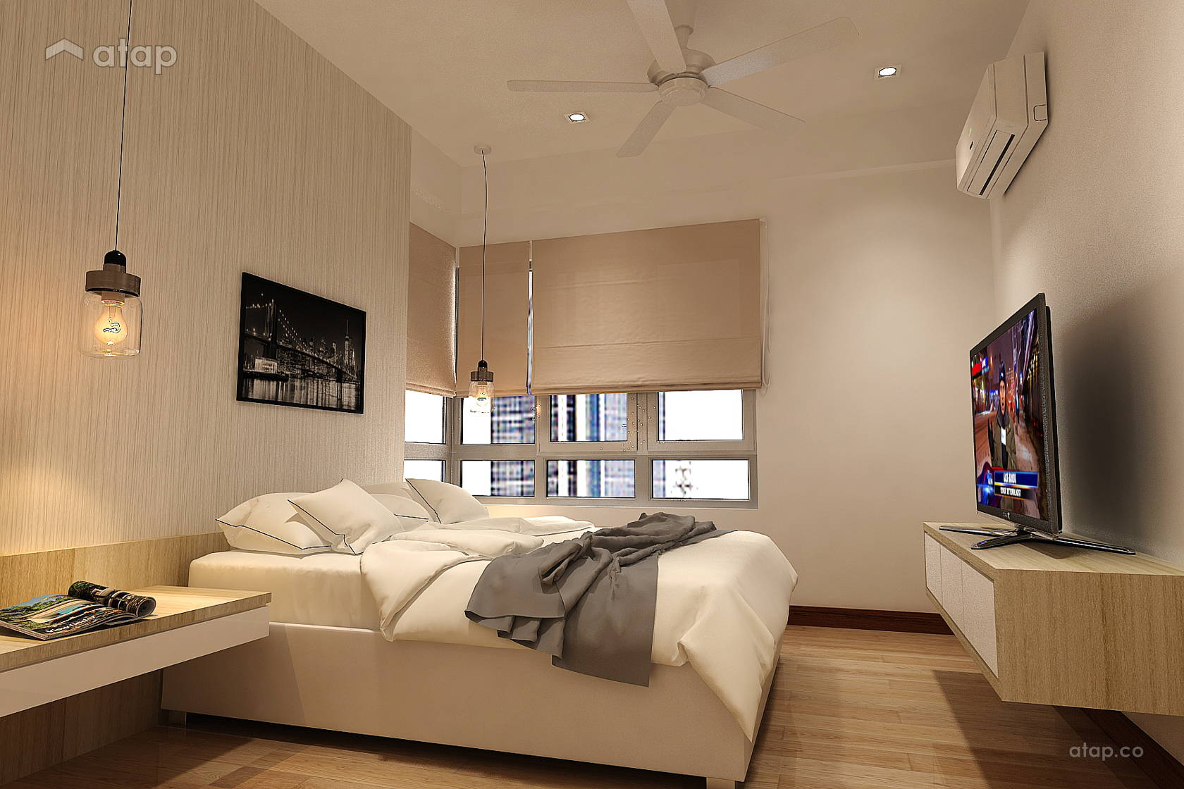 Desa Green Service Apartment Interior Design Renovation Ideas Photos And Price In Malaysia Atap Co