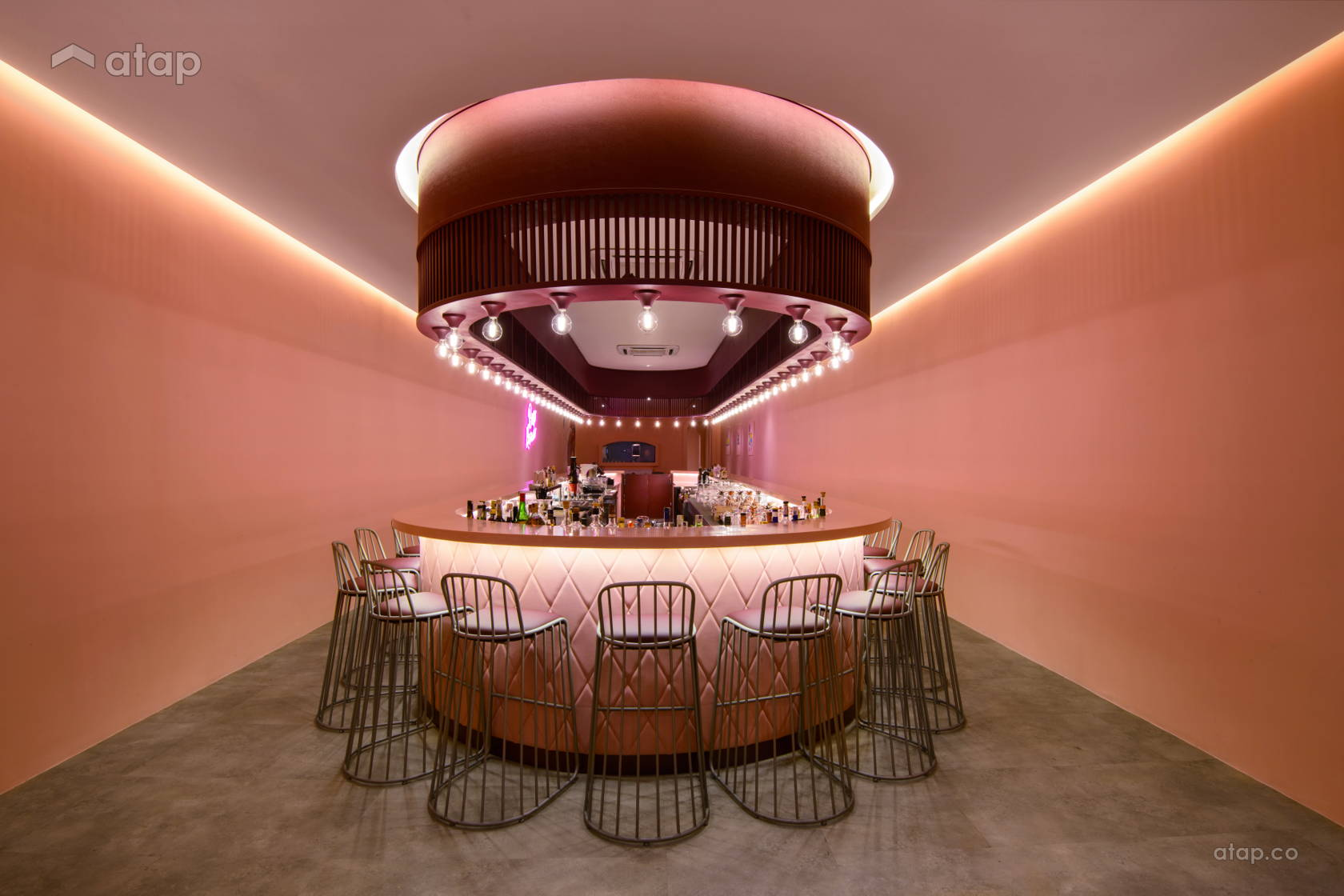 Contemporary Industrial F&B @ Beso Rosado