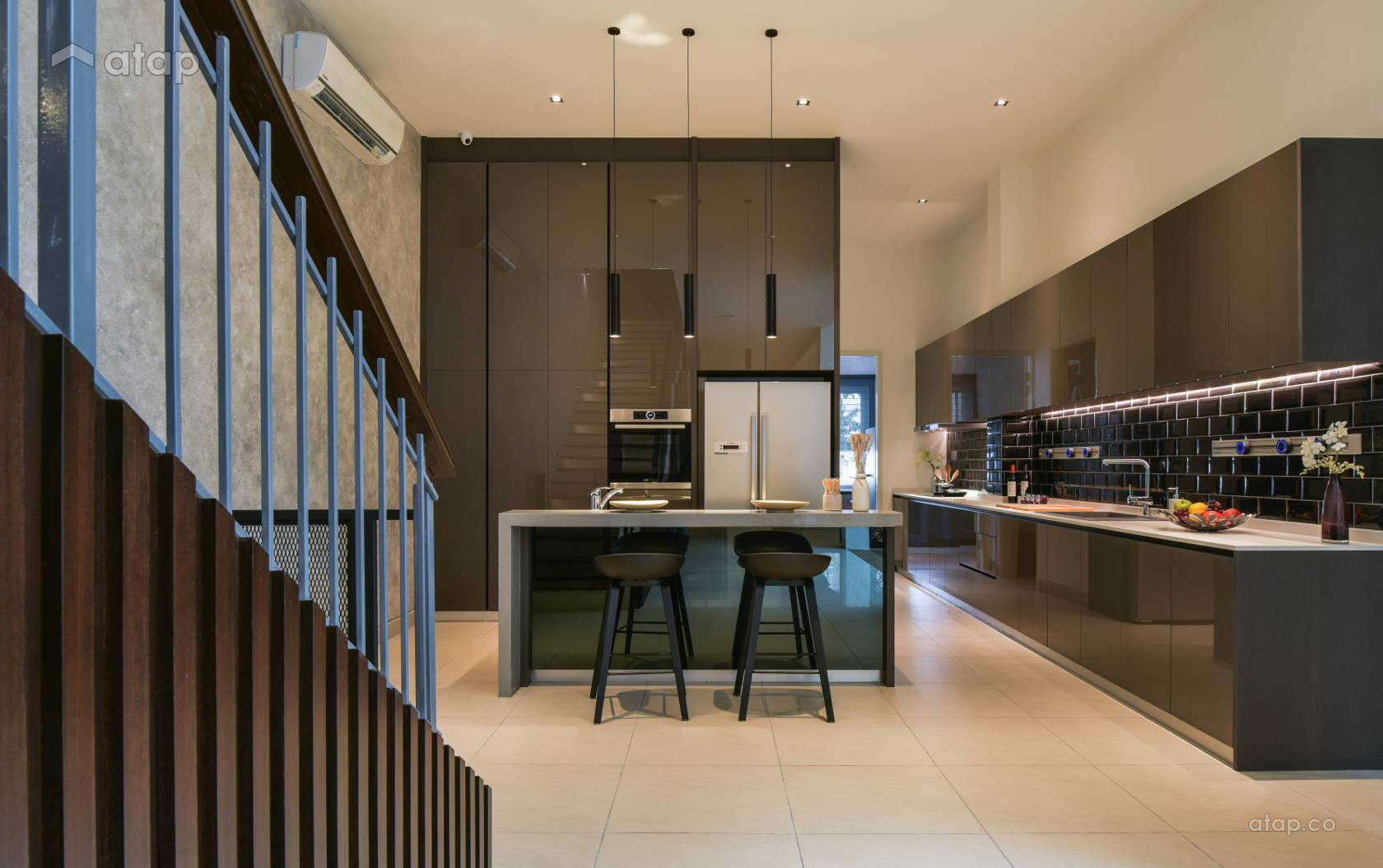 Contemporary Modern Kitchen @ Temasya Glenmarie