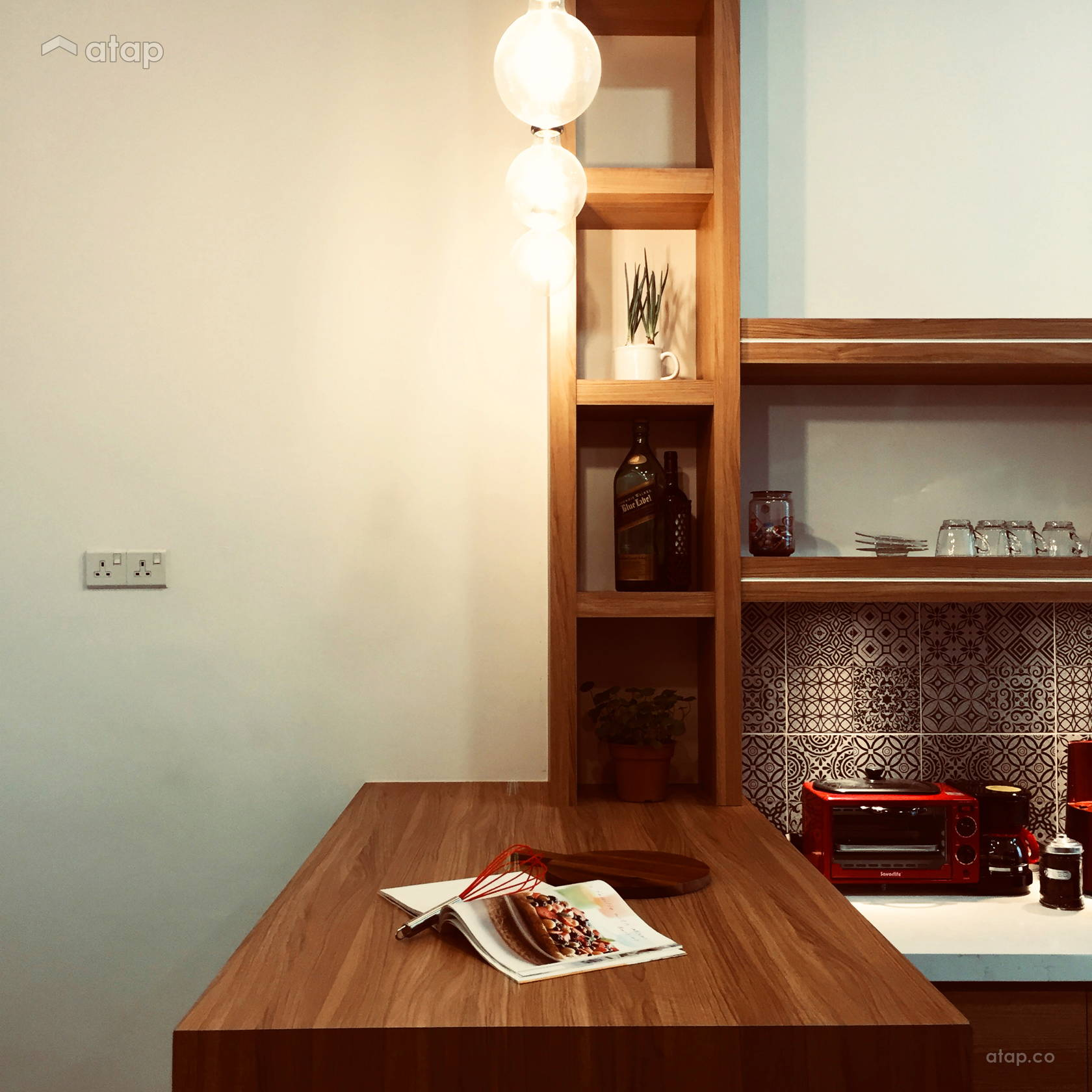 Contemporary Scandinavian Kitchen Terrace Design Ideas Photos