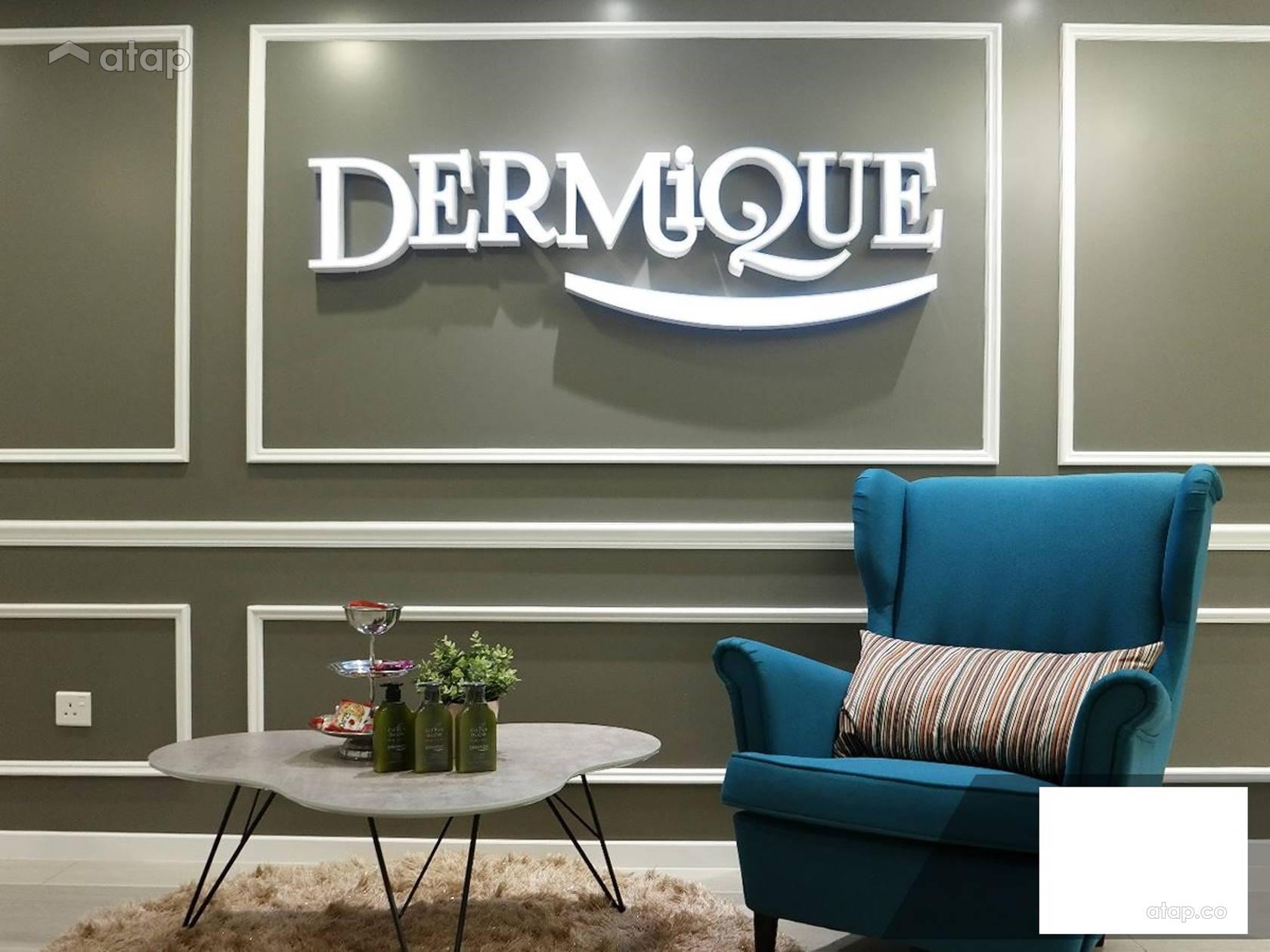 Beauty Clinic Dermique Interior Design Renovation Ideas