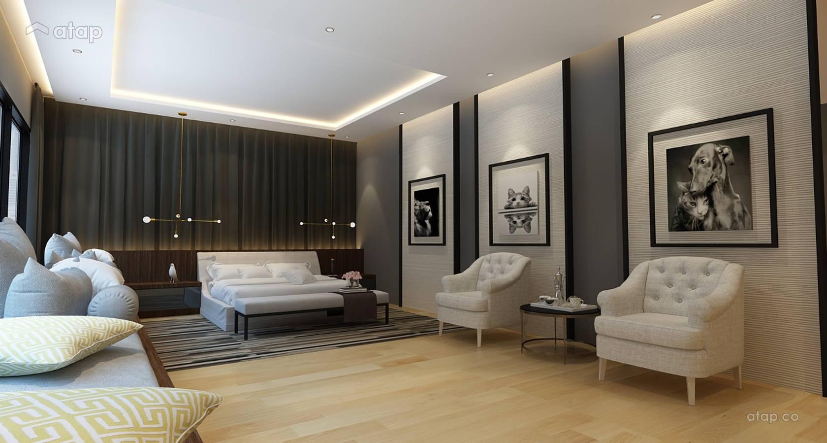 Minimalistic Modern Bedroom @ Double Storey House @ Bukit Prima