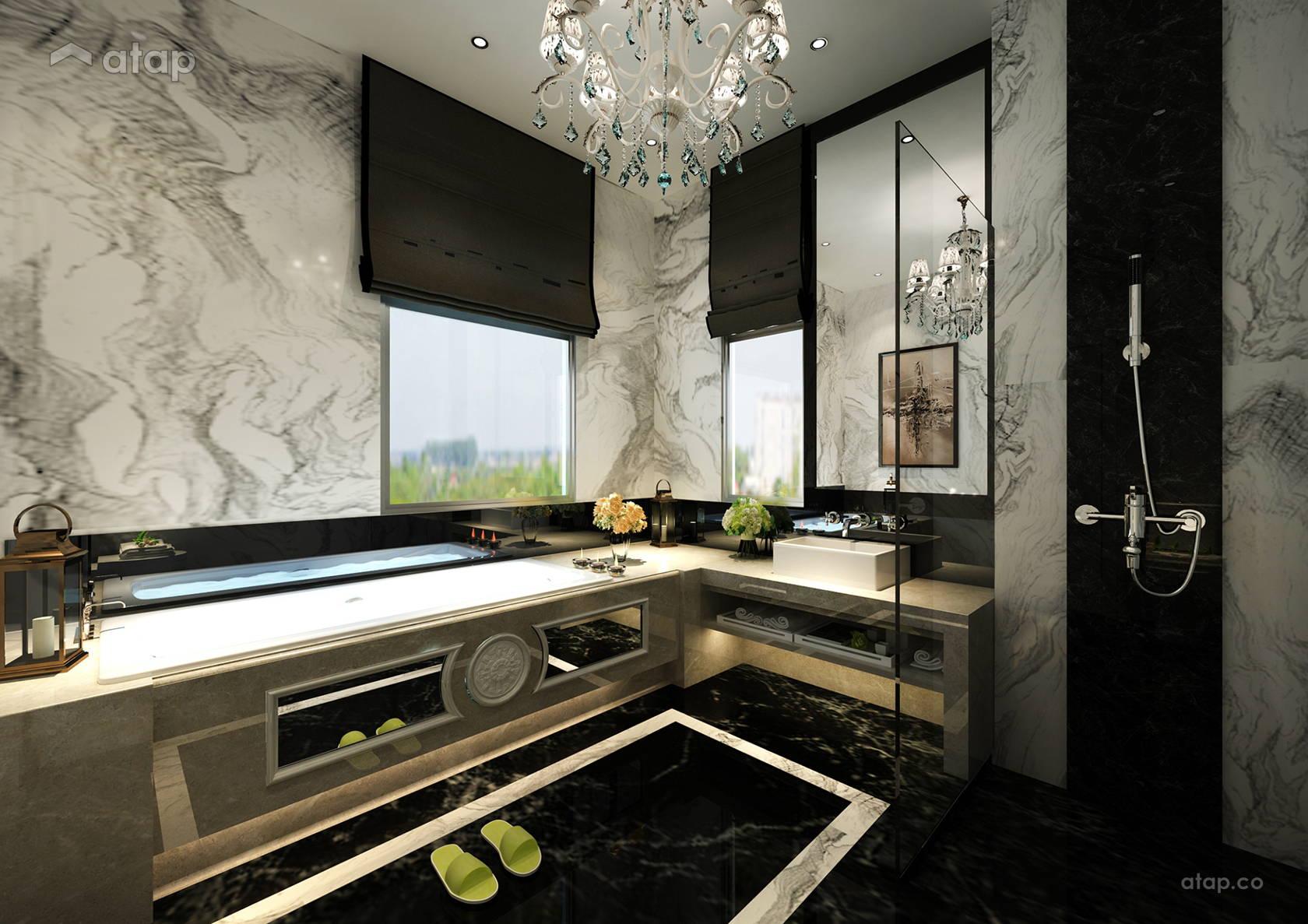 Modern Bathroom @ Isola Villa, Senibong