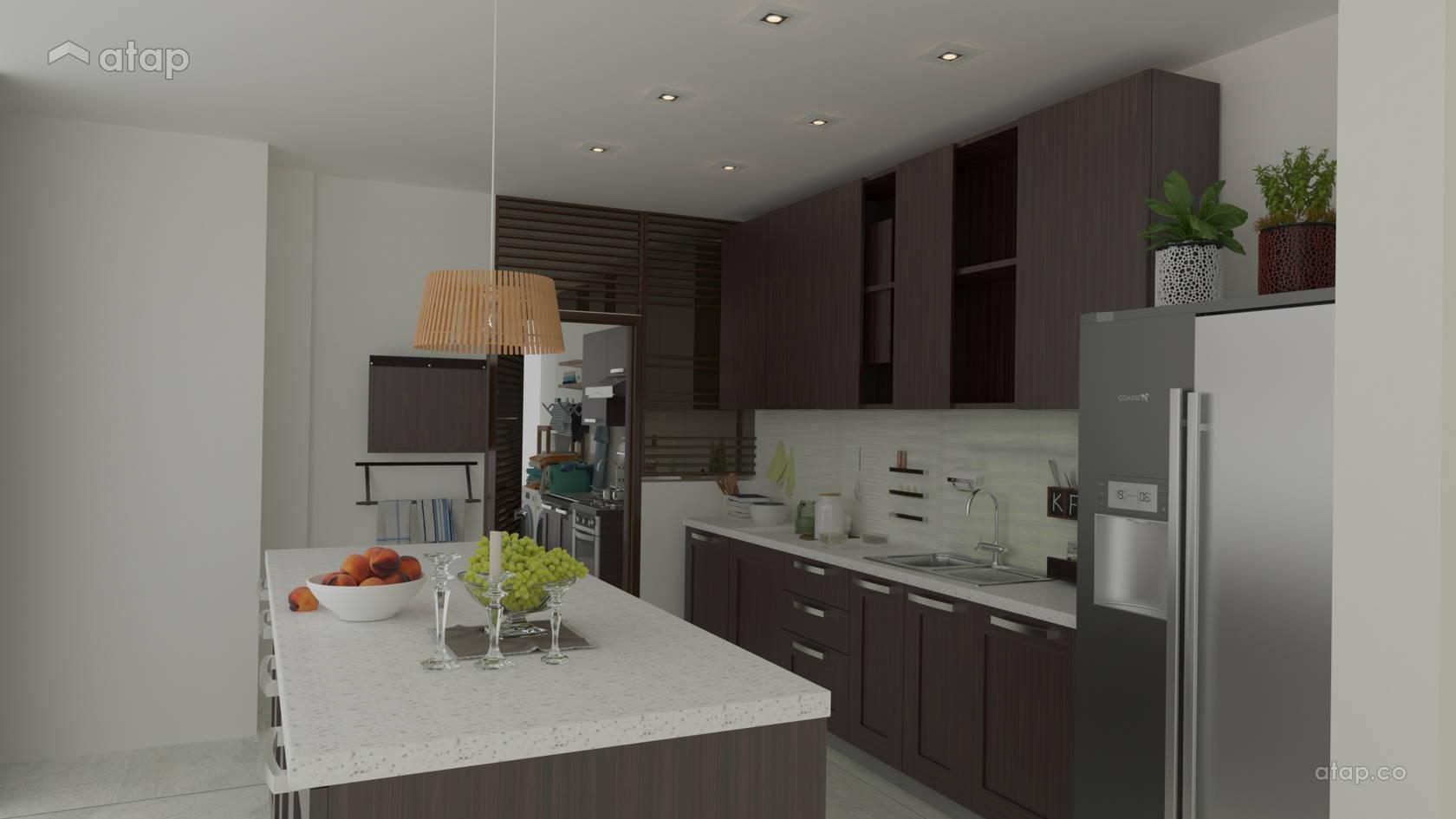 Modern Kitchen Apartment Design Ideas Photos Malaysia Atap Co