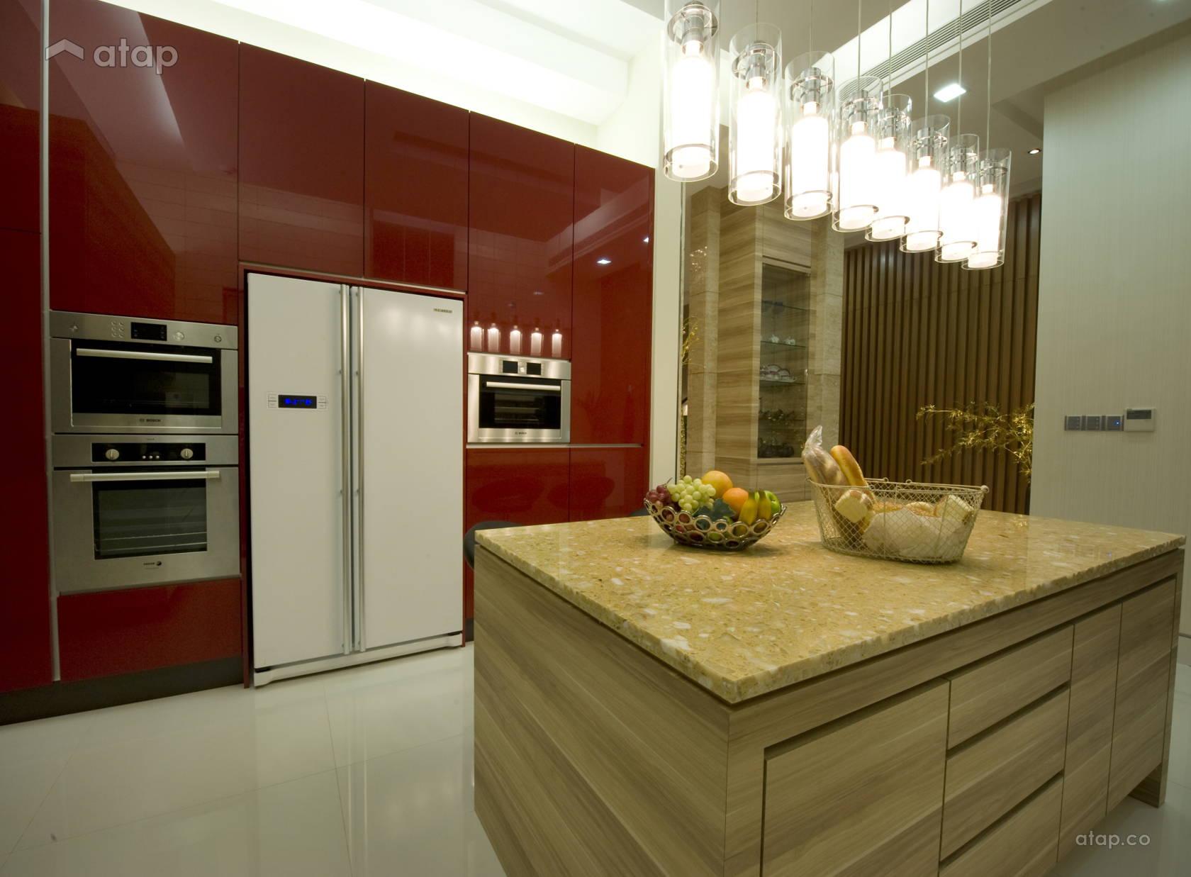 Asian Modern Kitchen @ BUNGALOW HOUSE - SETIA ALAM