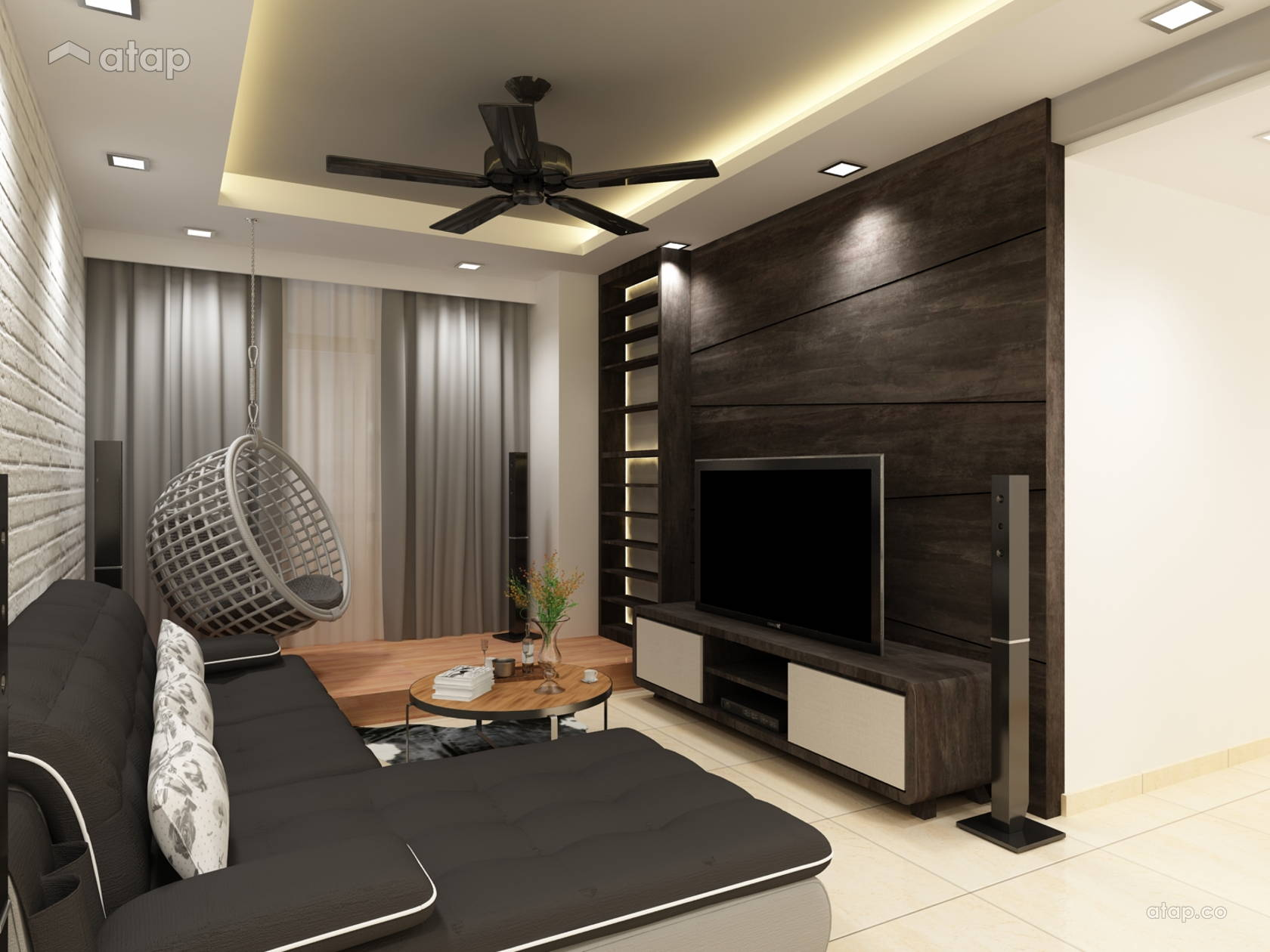 Condominium share this professional sensuouslight design renovation