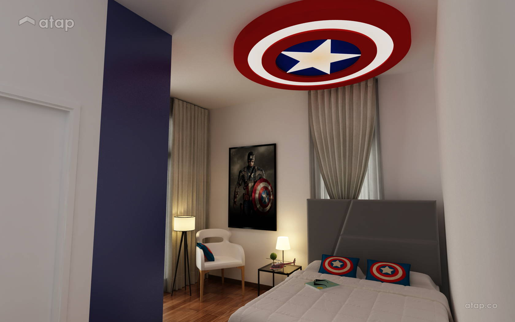 Modern Bedroom @ Setia Eco Cascadia - Tremont