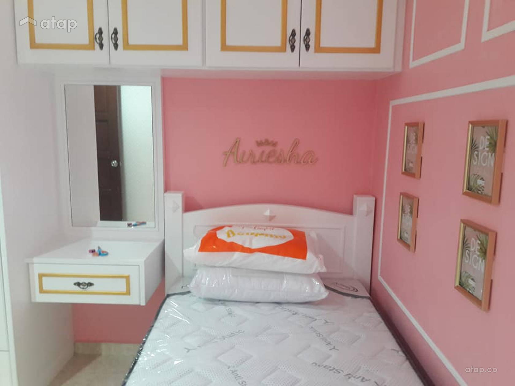 Princess Daughter Room Interior Design Renovation Ideas Photos And Price In Malaysia Atap Co
