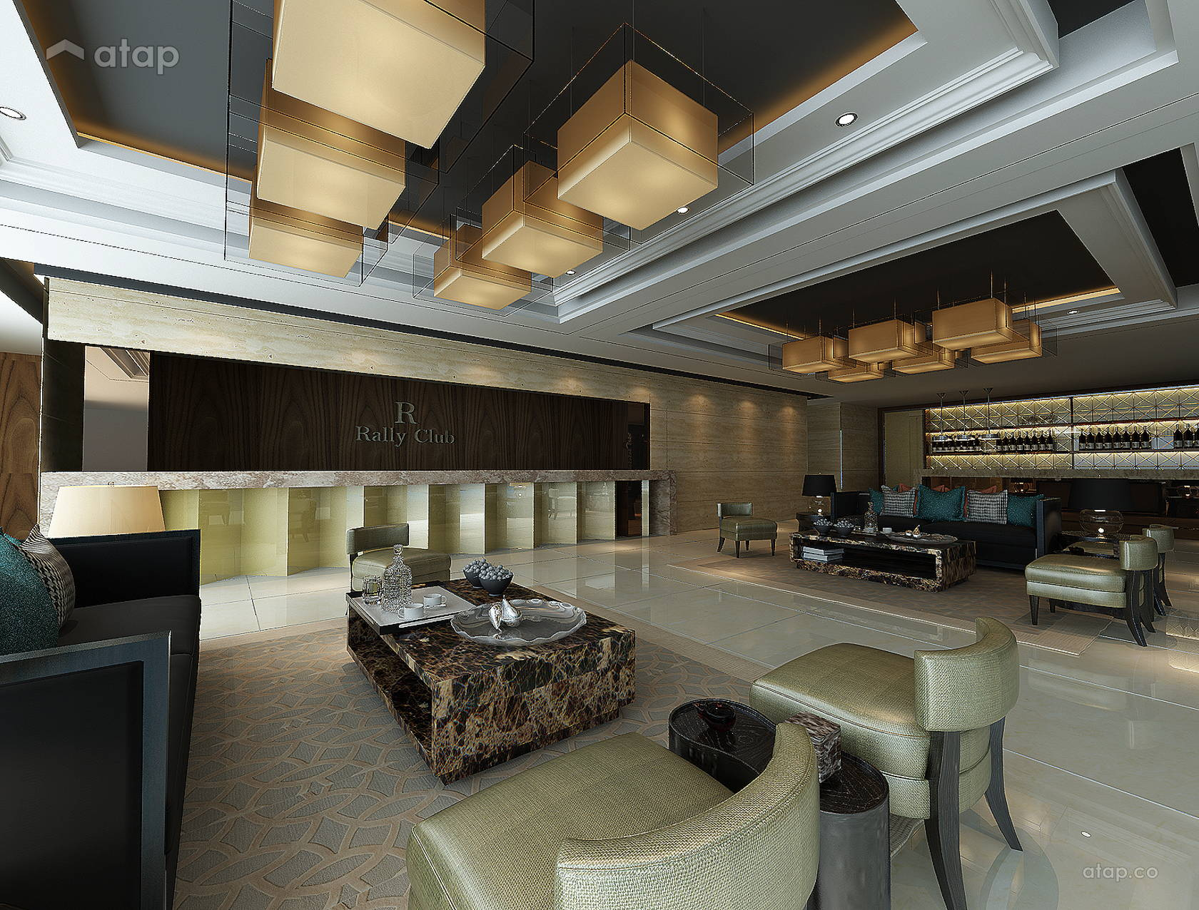 Premium Club Melaka interior design renovation ideas photos and