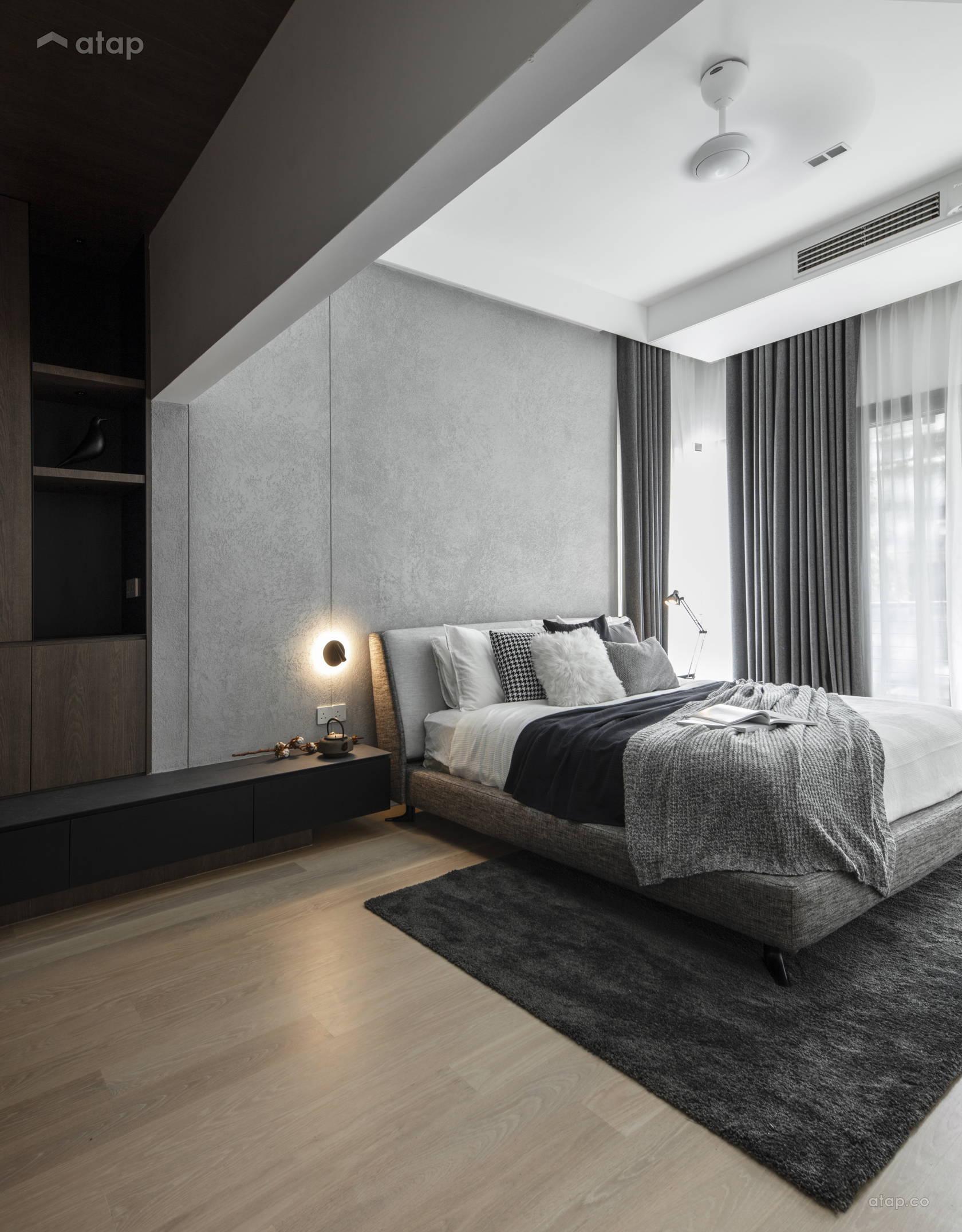 . Modern Zen Bedroom terrace design ideas   photos Malaysia   Atap co