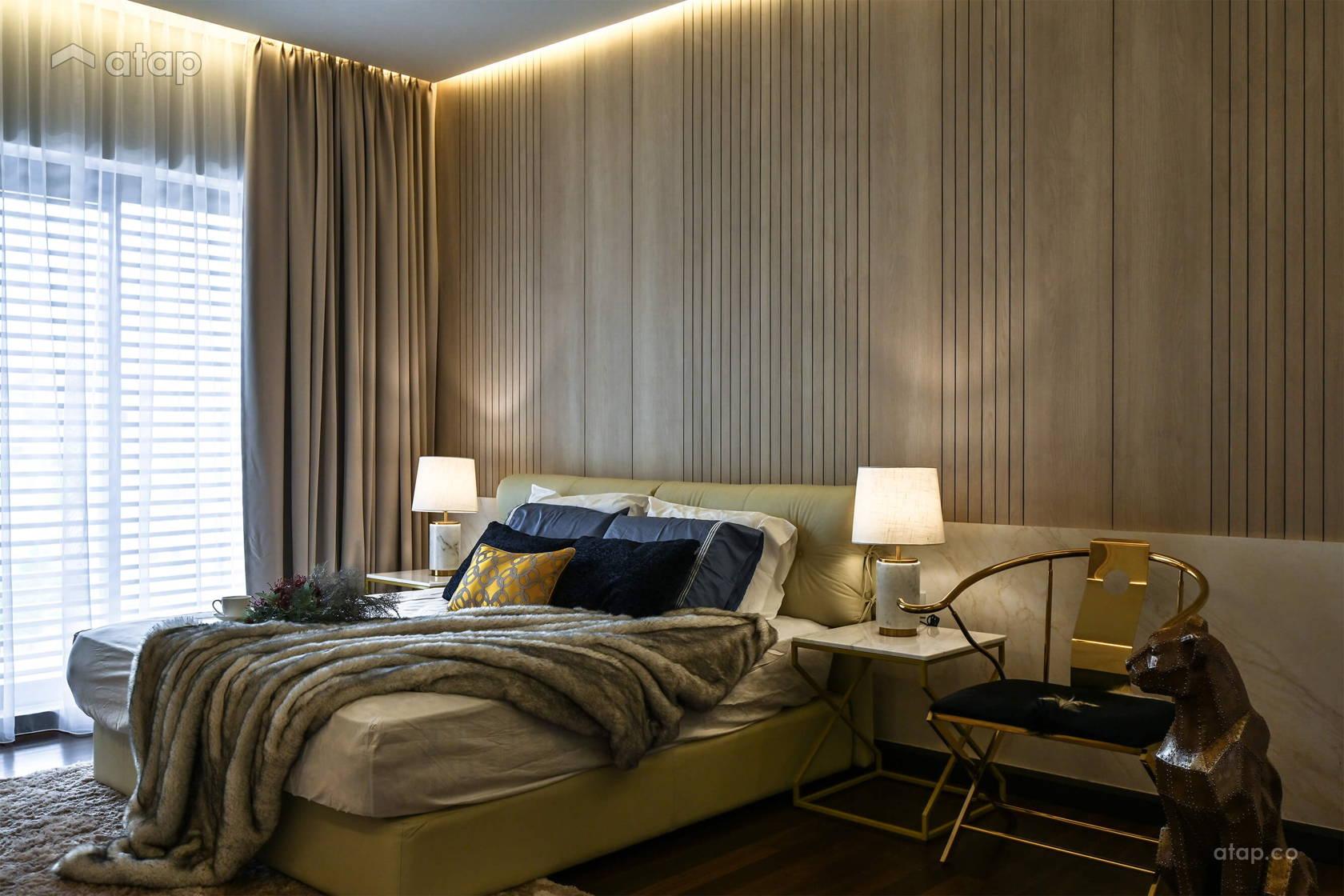 Minimalistic Zen Bedroom @ Bourne of Azure @ Bandar Kinrara, Puchong