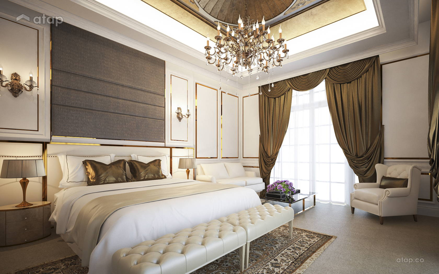 Classic Bedroom @ 4452 Bungalow, Johor Bahru