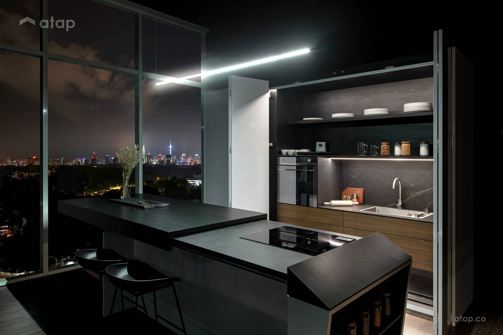 Classic Modern Kitchen @ Gallery - The K