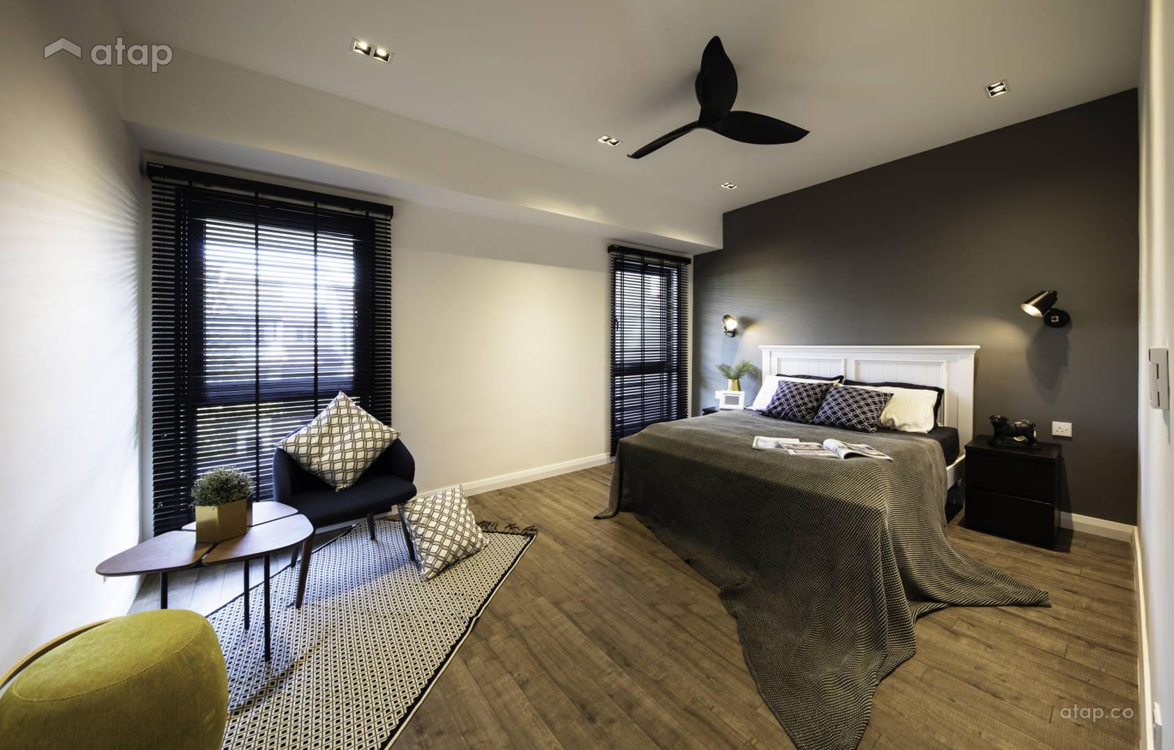 Modern Bedroom @ Break of Dawn