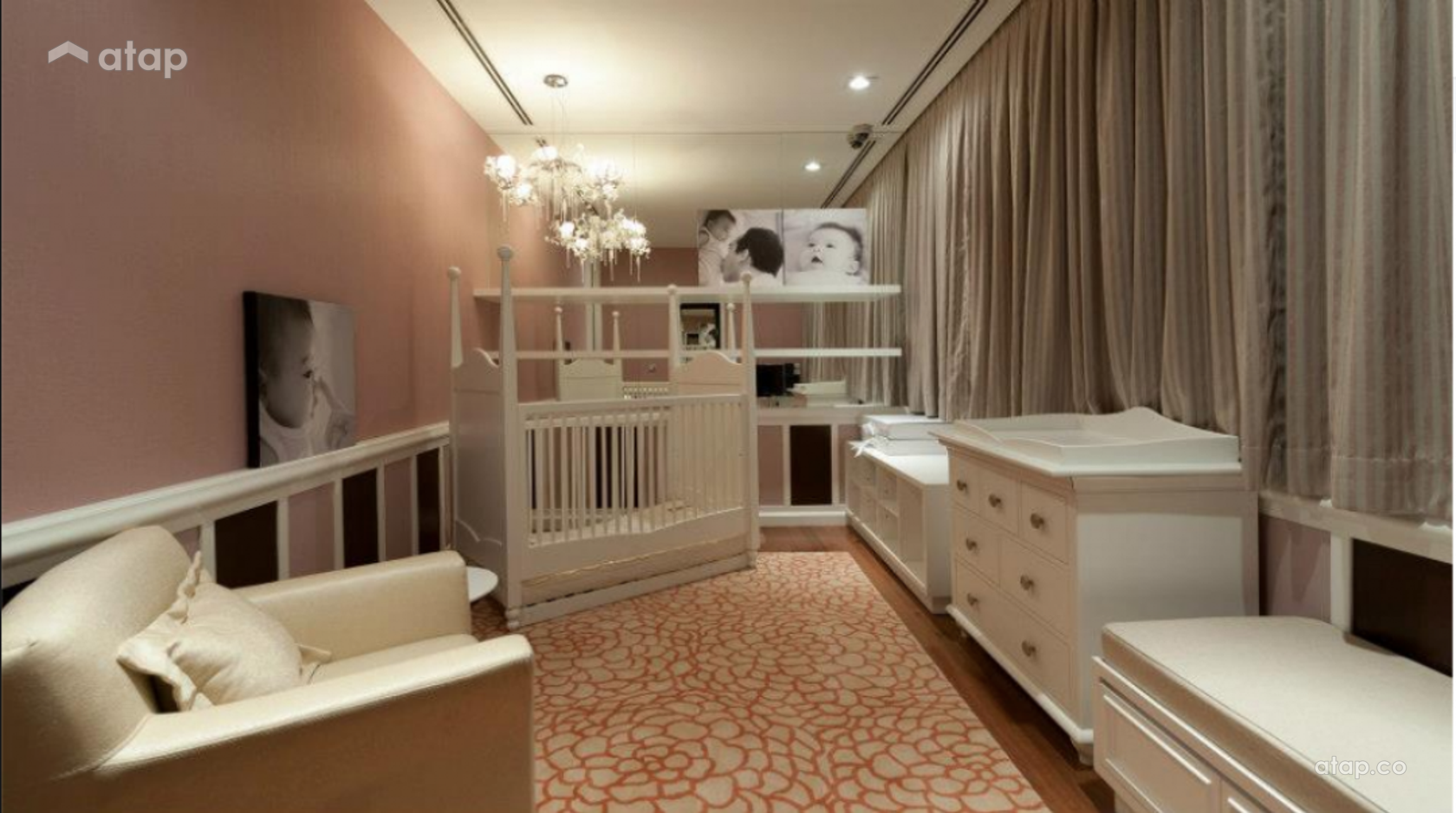Contemporary Modern Bedroom Kids @ N residence