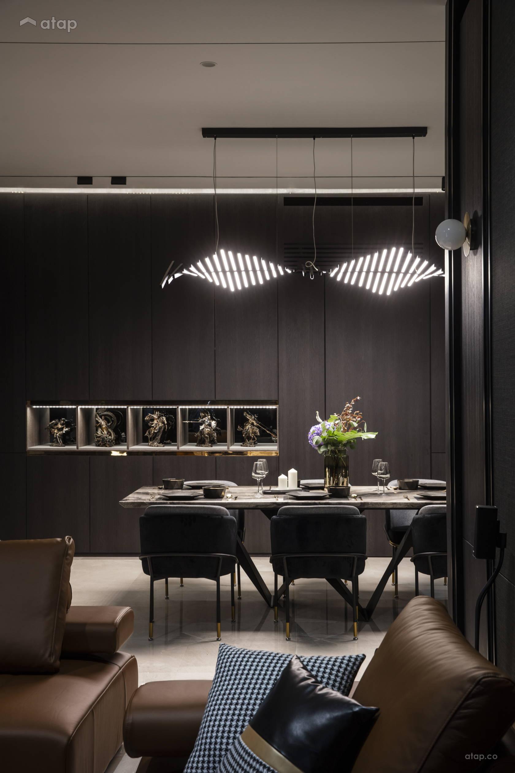 Contemporary Modern Dining Room @ Anjali North Kiara