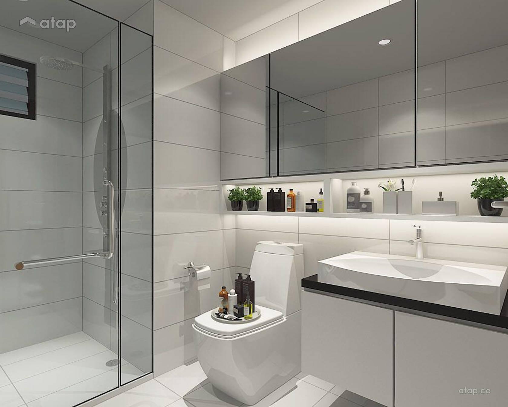 Minimalistic Bathroom @ Dairy farm