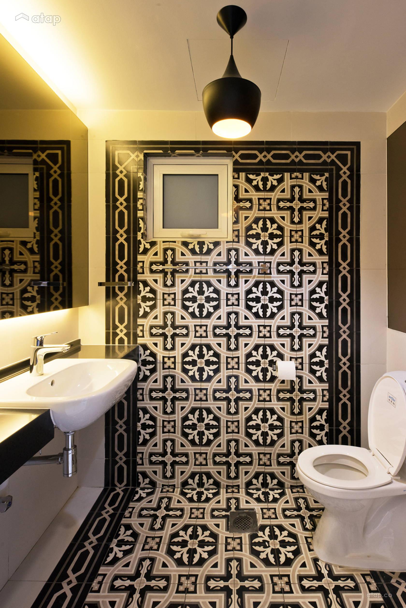 Contemporary Modern Bathroom @ Casa Tropicana