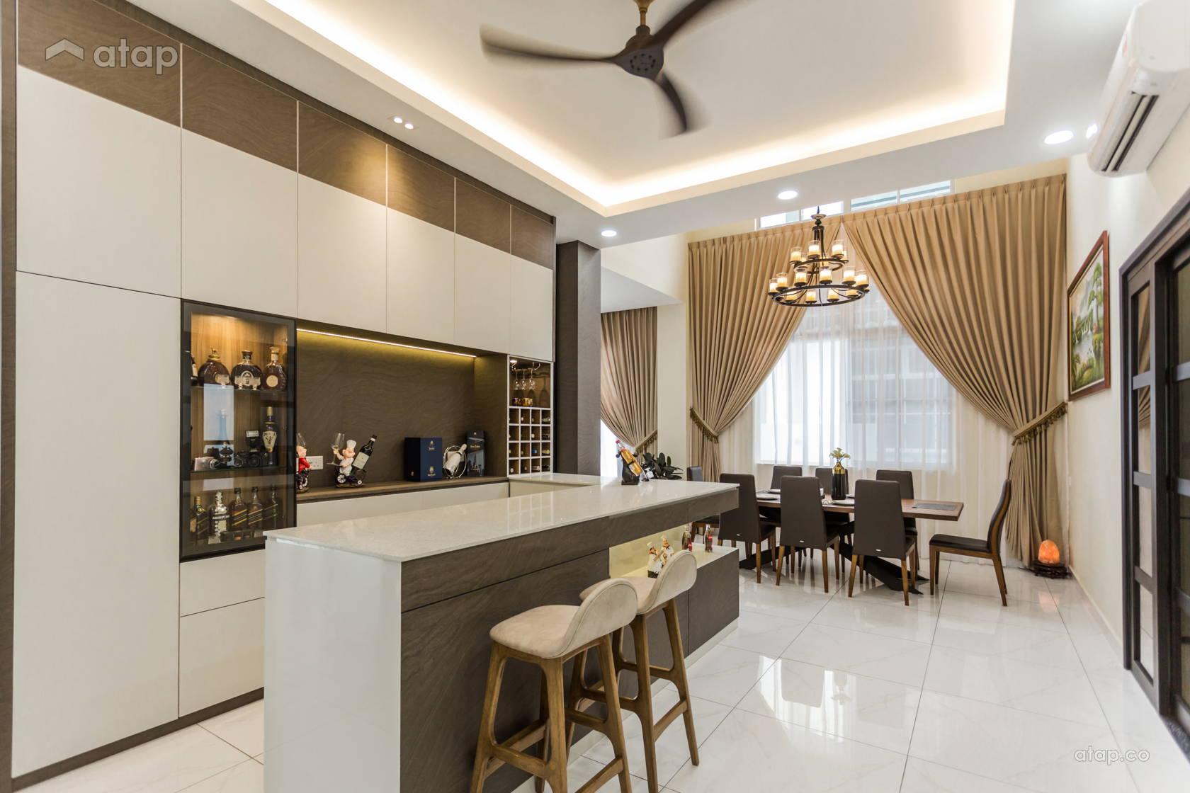 contemporary modern kitchen semidetached design ideas