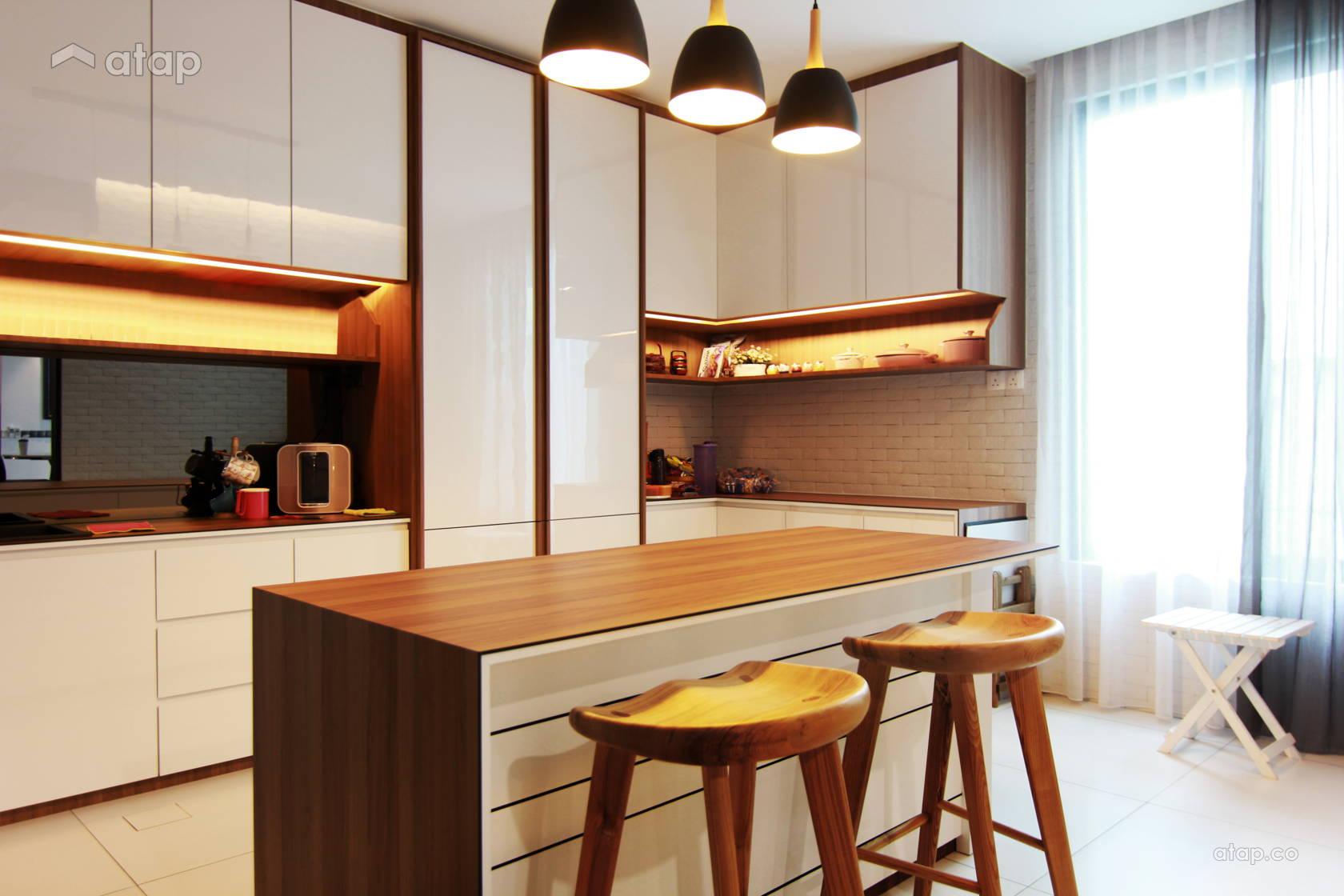 Modern Vintage Kitchen @ Sutera Residence