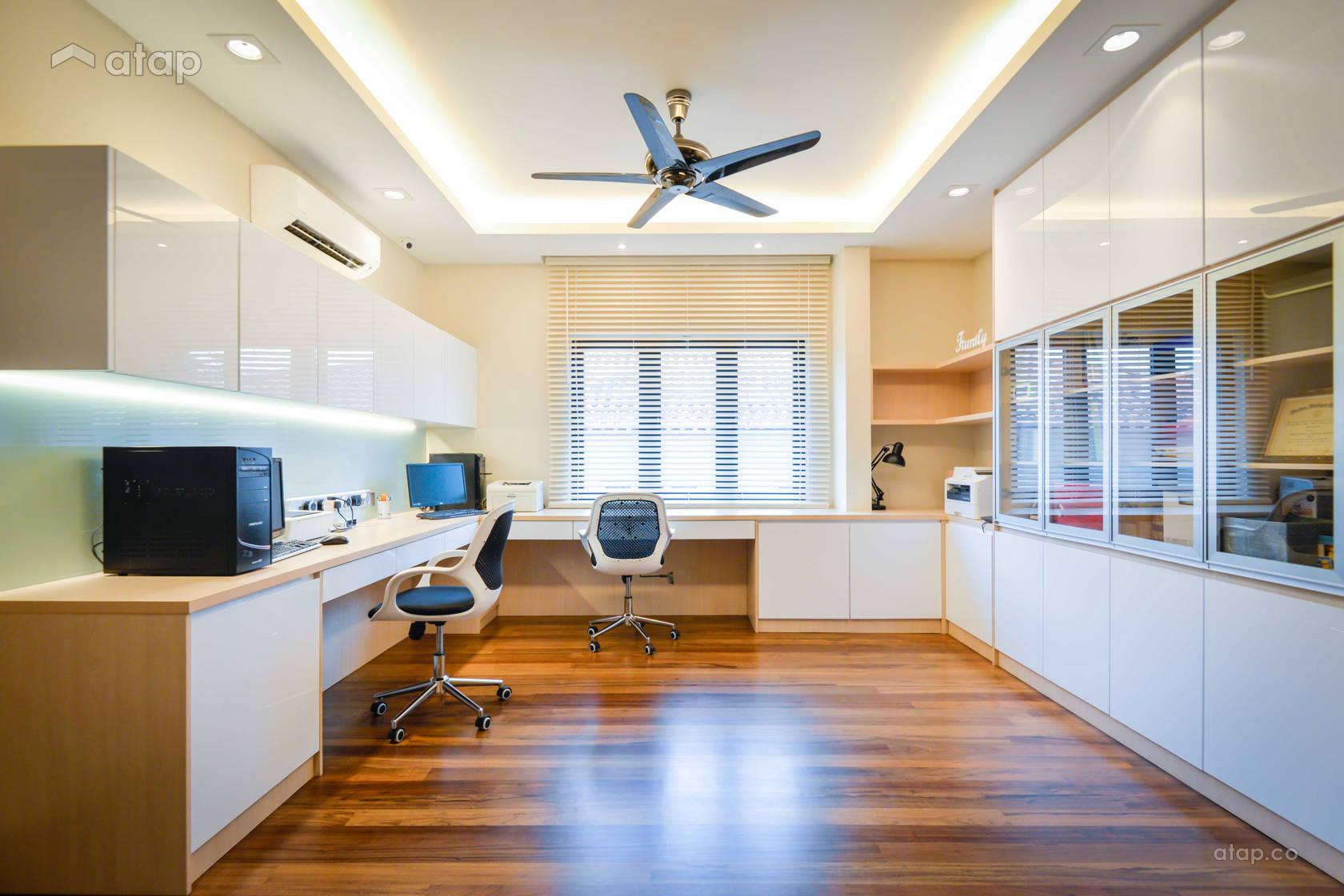 Modern Office @ Semi-D at Bukit Segar