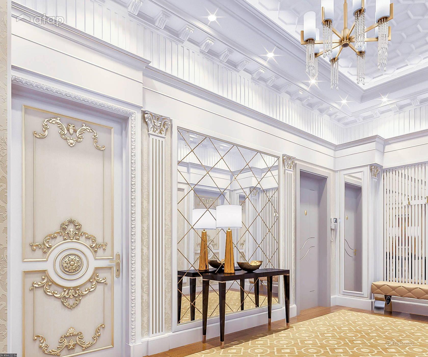 Classic Modern Foyer Retail condominium design ideas & photos ...