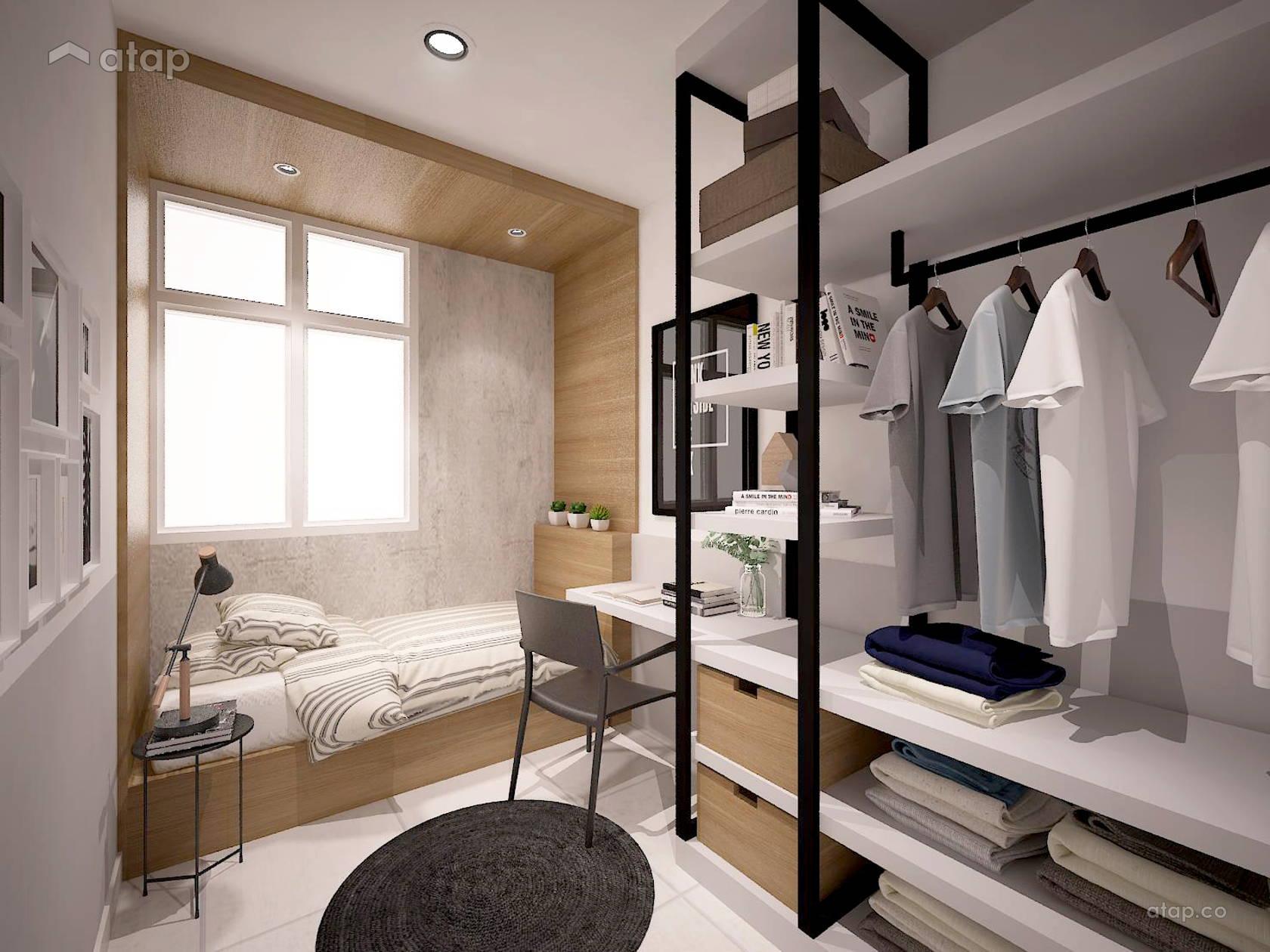 Industrial Bedroom Terrace Design Ideas Photos Malaysia Atap Co