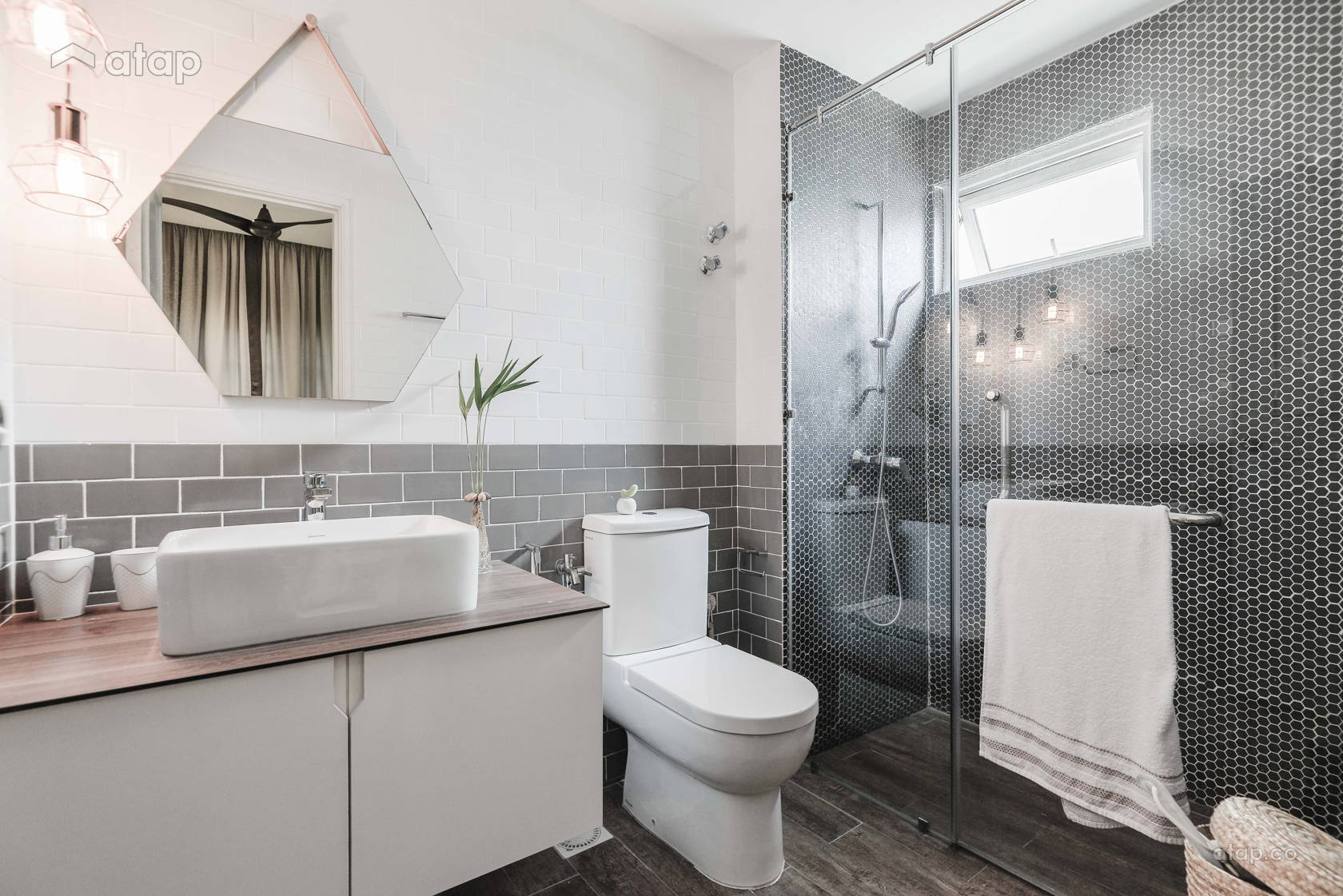 20 Malaysian Bathroom Design Ideas for Your Renovation | Atap.co