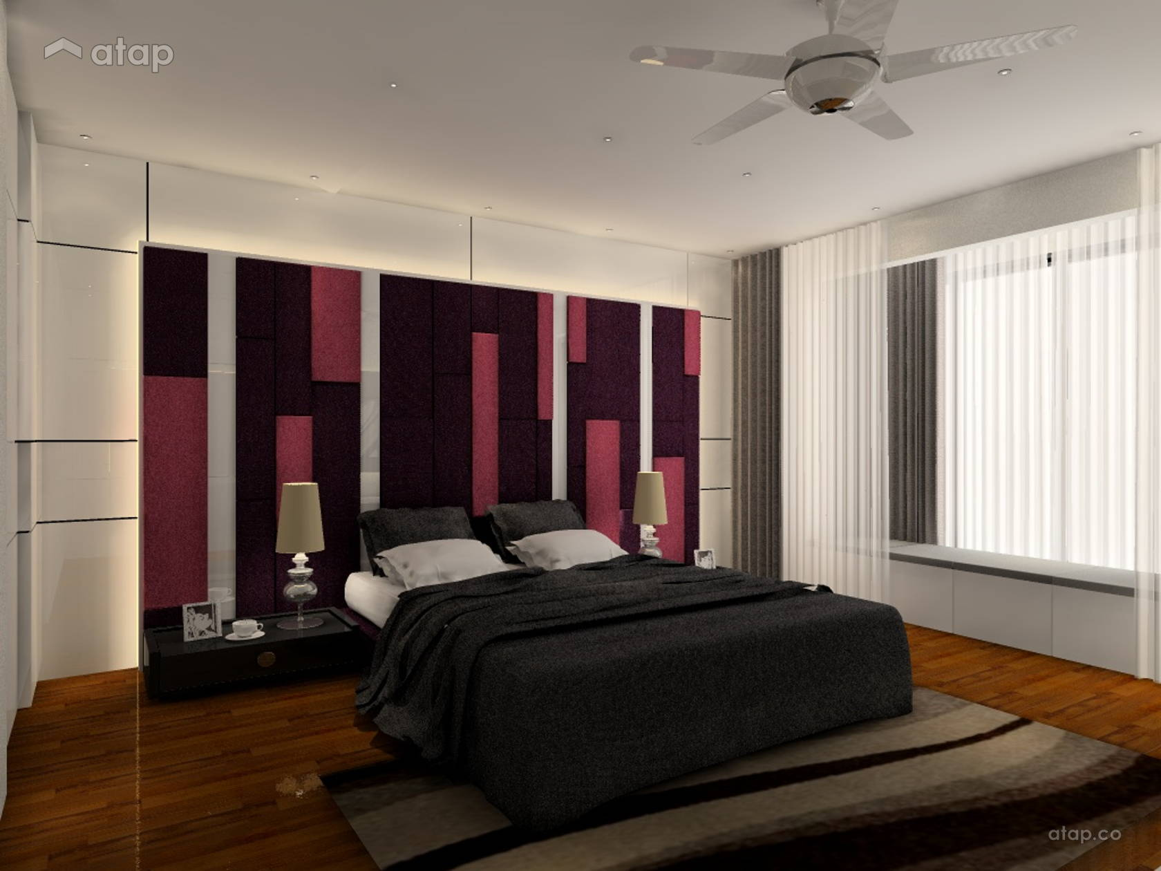 Contemporary bedroom 3 storey semi detached kepong share this professional