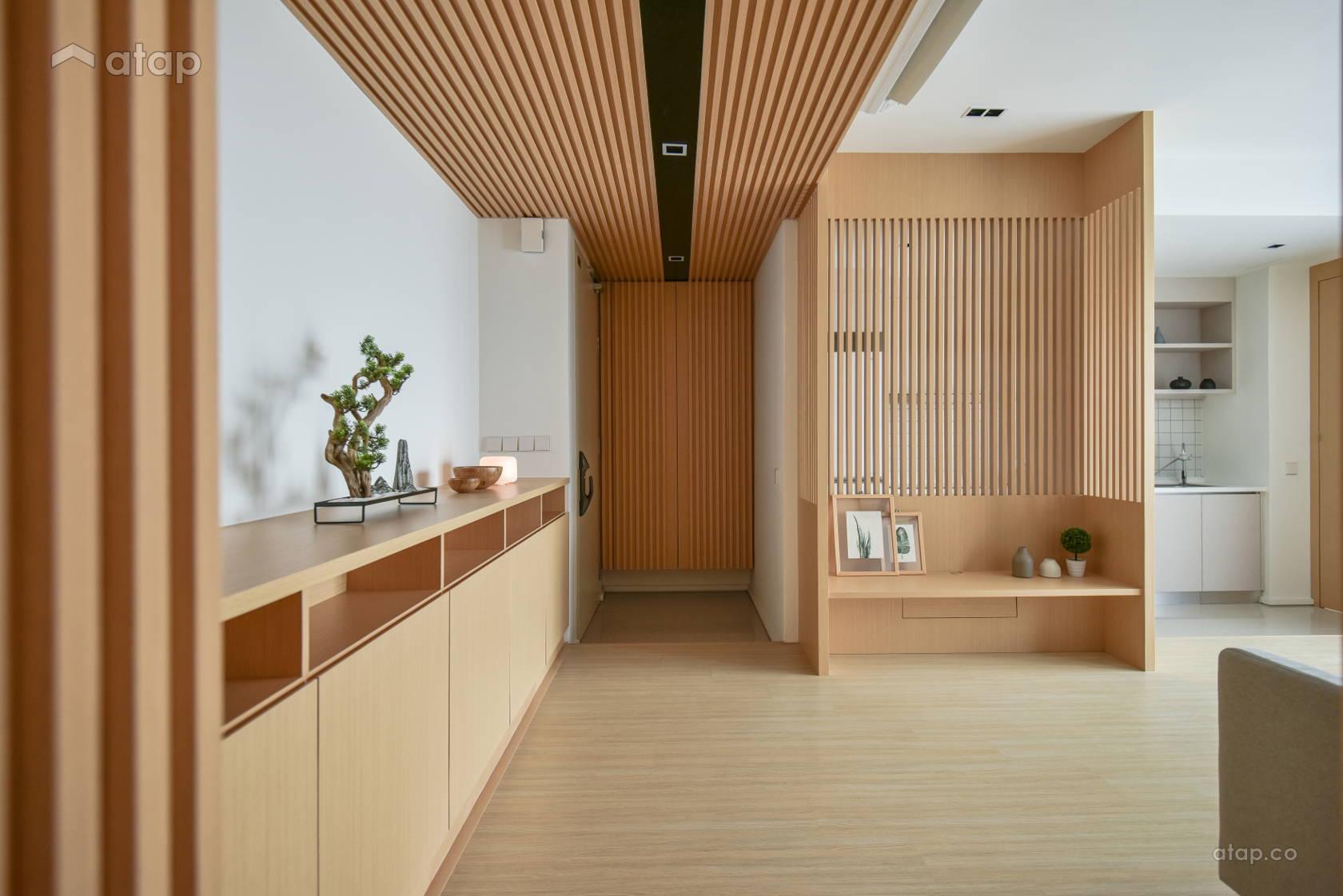 Minimalistic Zen Living Room @ Verdi Condominium, Cyberjaya