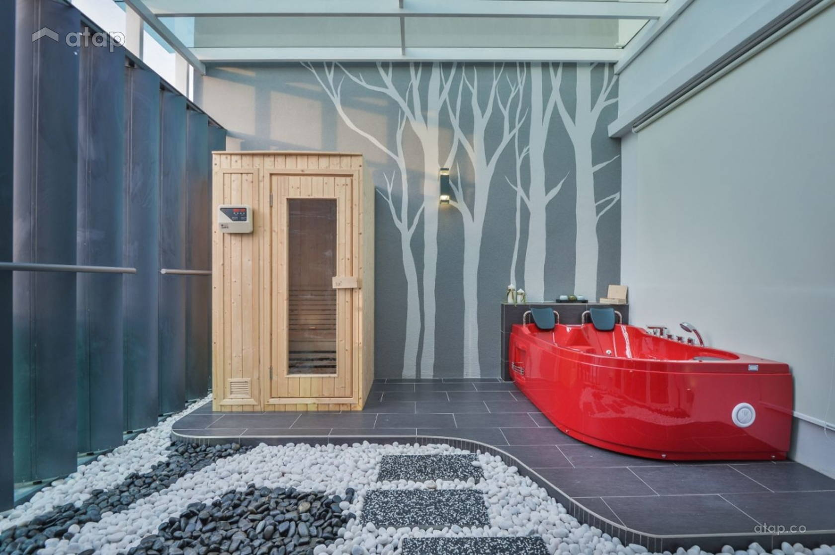 Contemporary Modern Bathroom @ Cheras Viridian