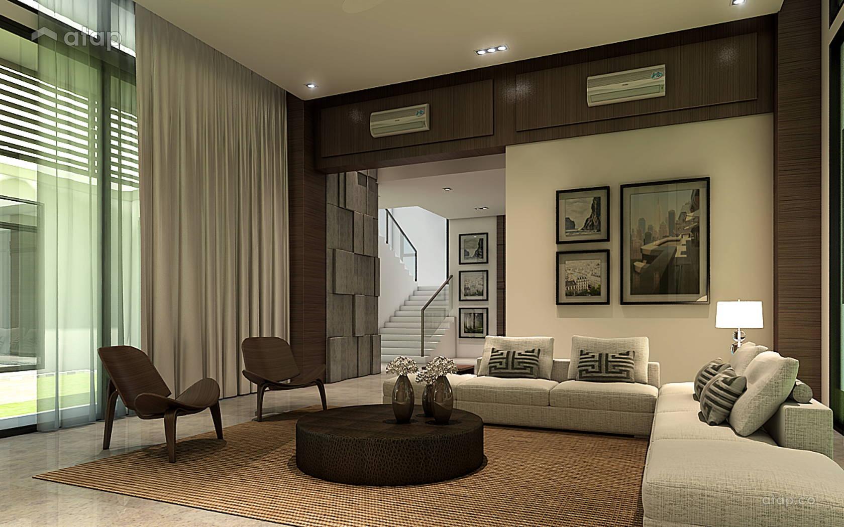 Classic Modern Living Room @ Bungalow USJ