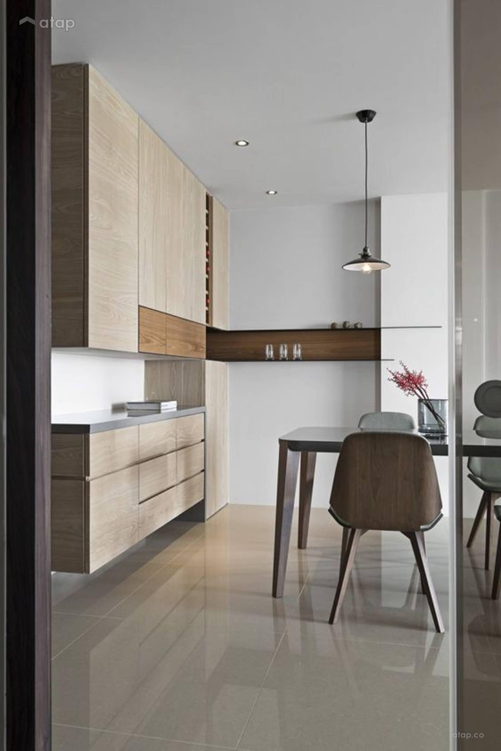 Contemporary Dining Room apartment @ Contemporary Style | De Space ...