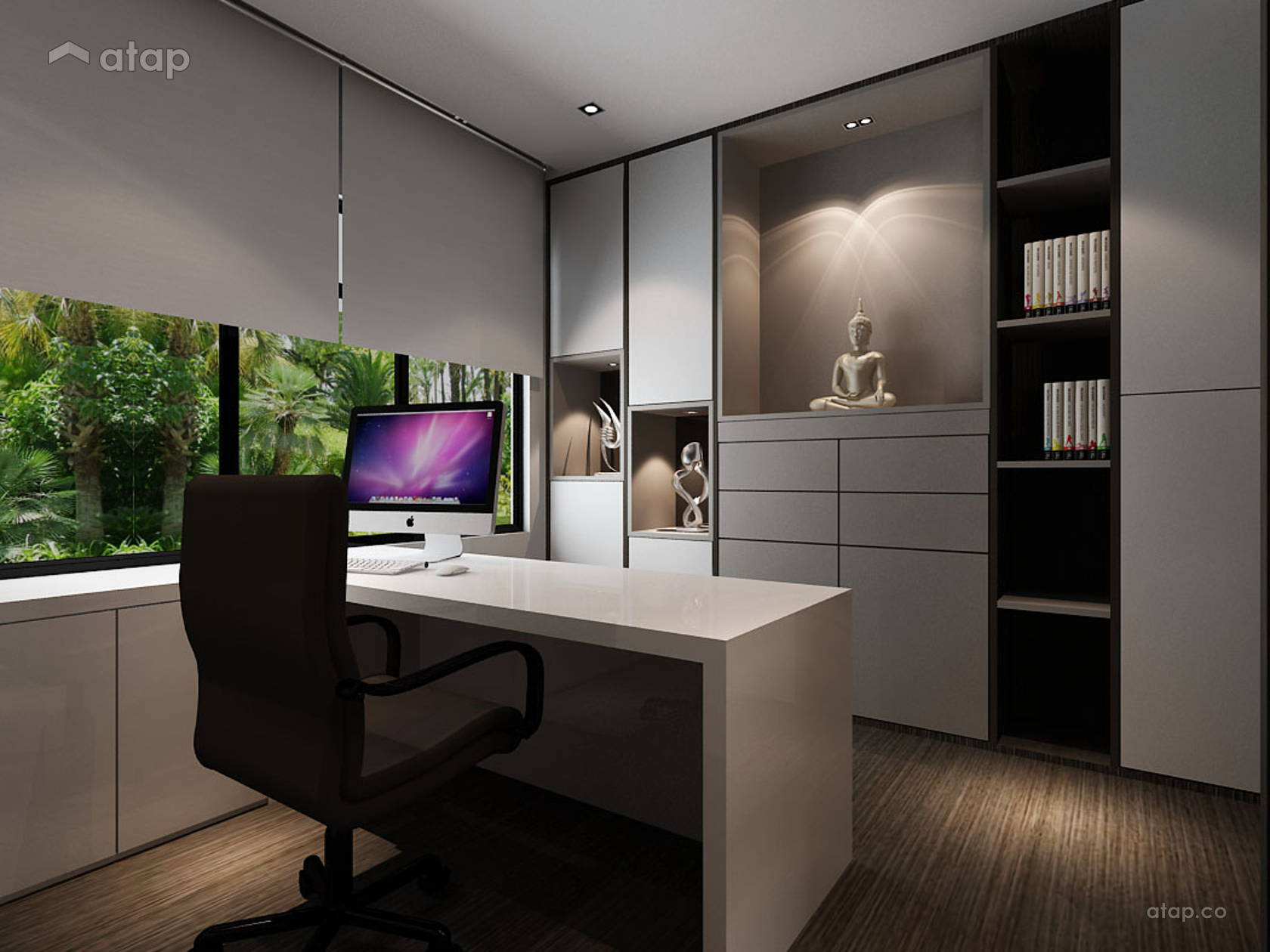 Asian Modern Office @ Taman Adda Height