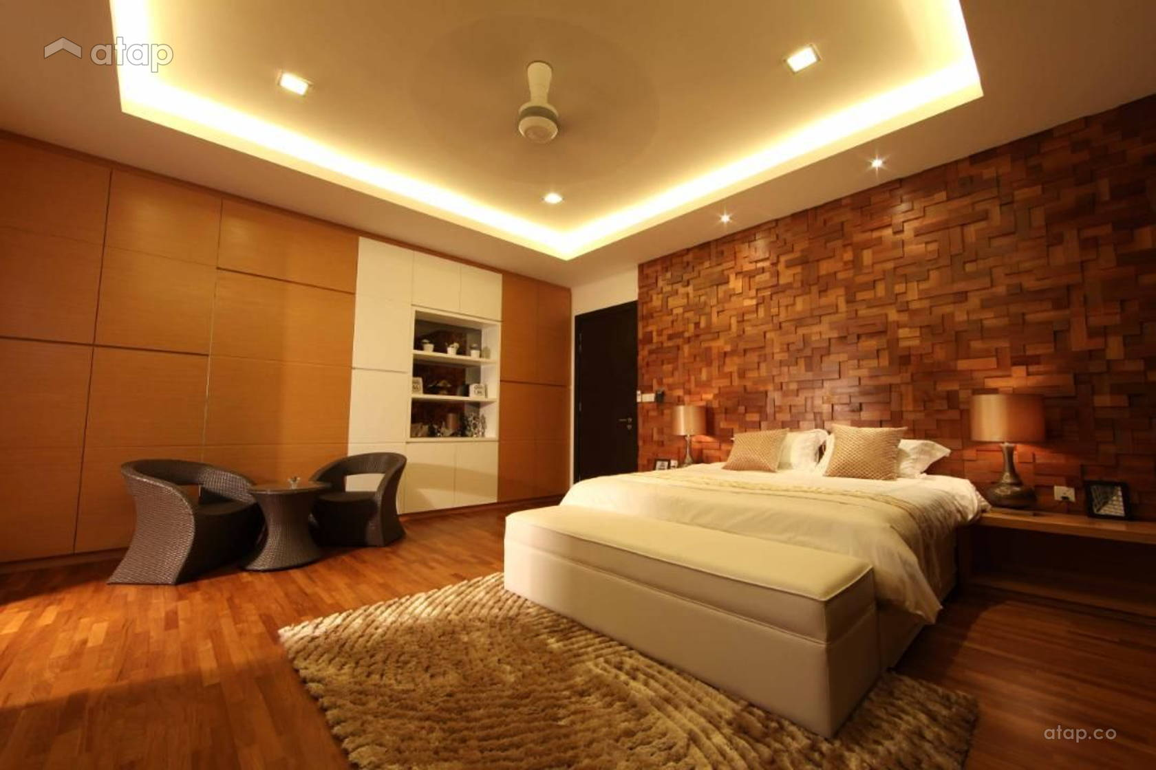 Contemporary Modern Bedroom @ Setia Eco Park, Setia Alam