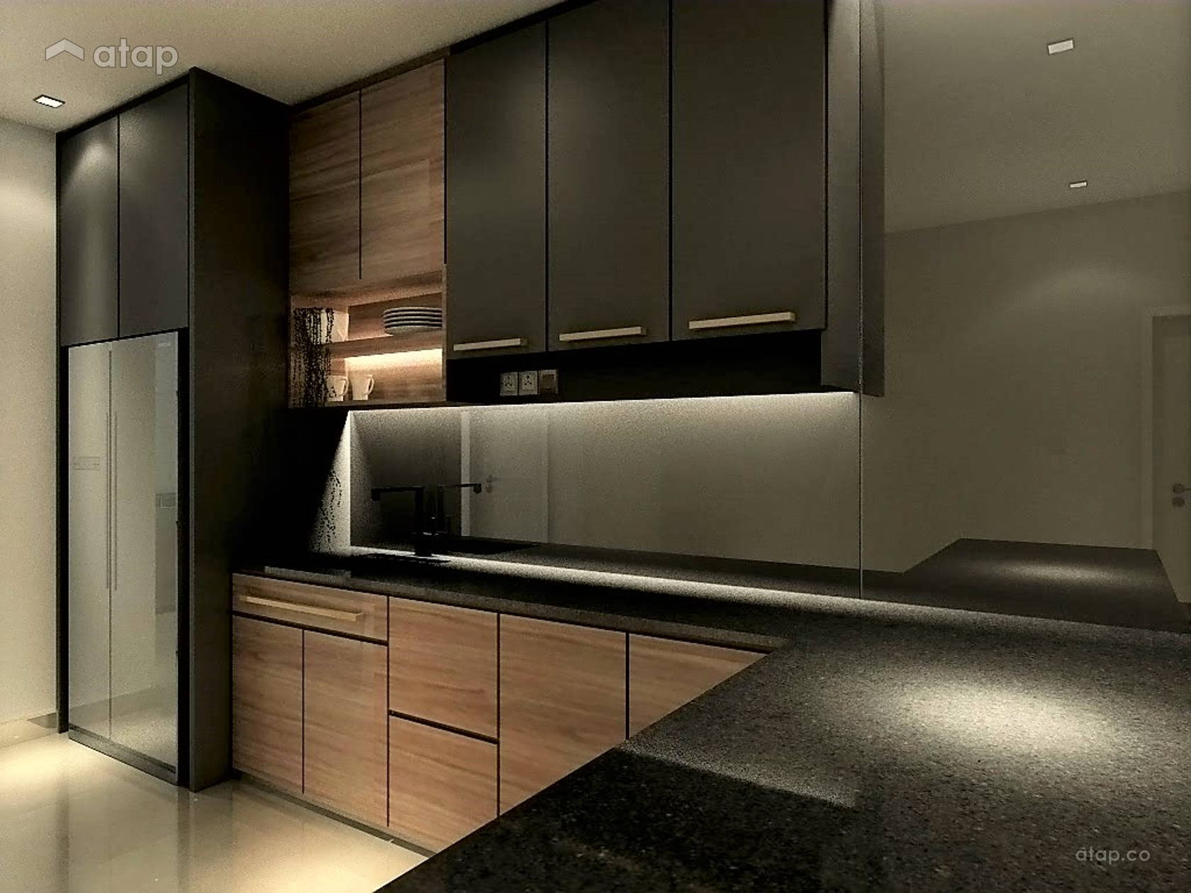 Modern Kitchen @ Resort Homes @ Hijayu 2 Seremban