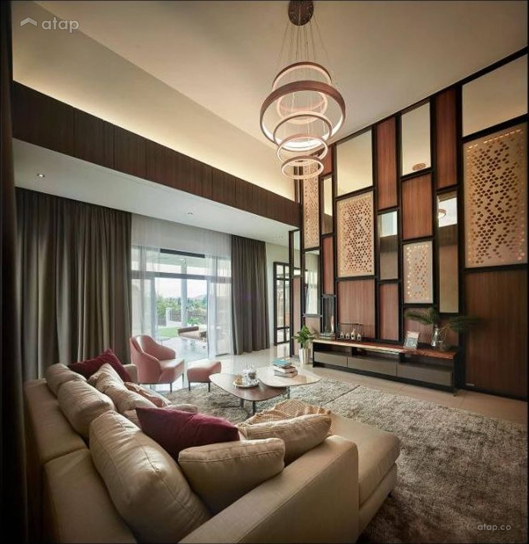 Zen Living Room @ Horizon Hill