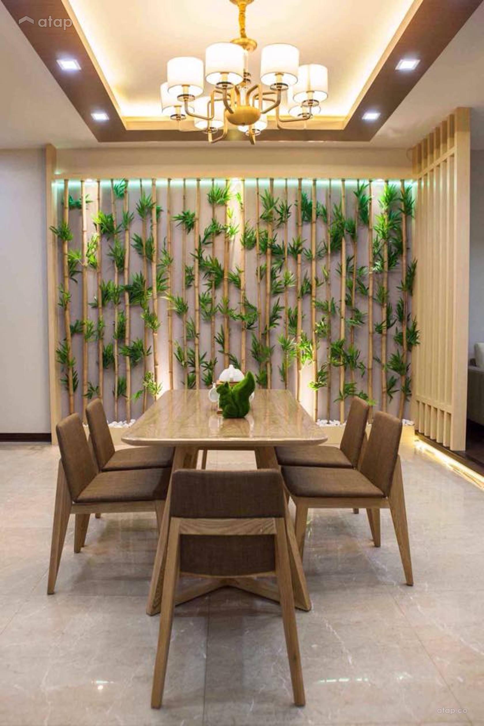 Country Zen Dining Room @ Sekinchan Perdana Condo Penthouse 88