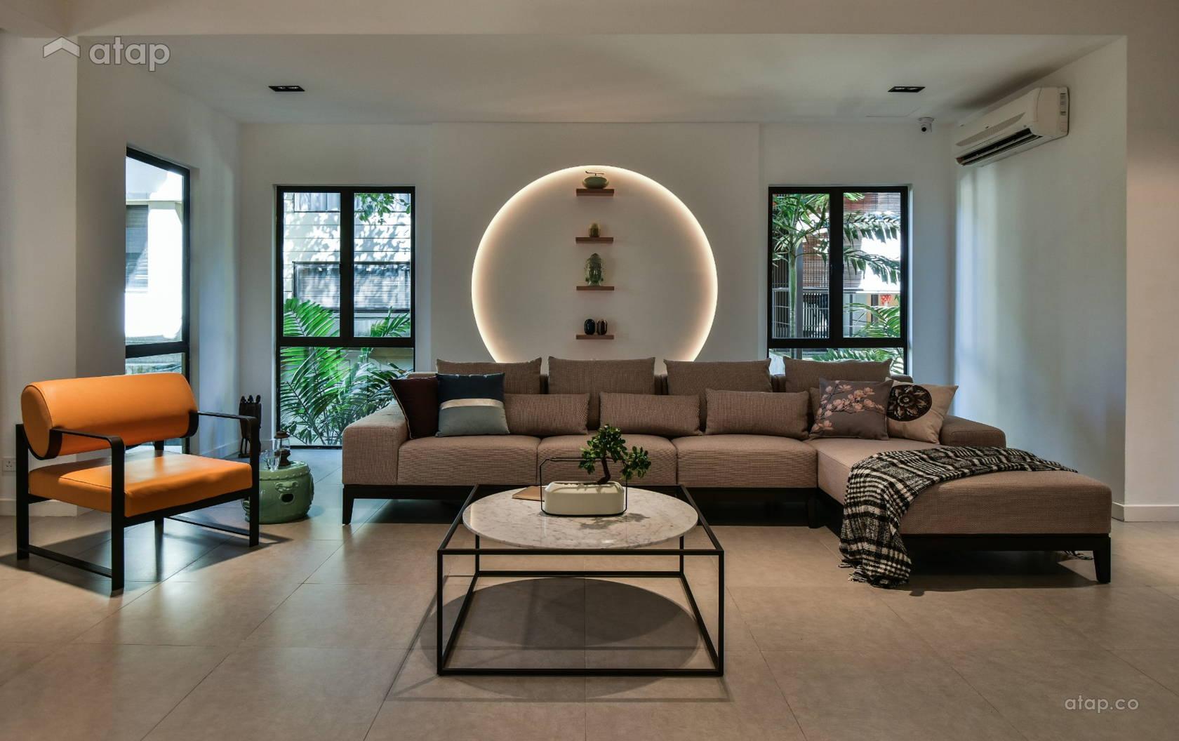 Asian Modern Living Room @ Modern Oriental