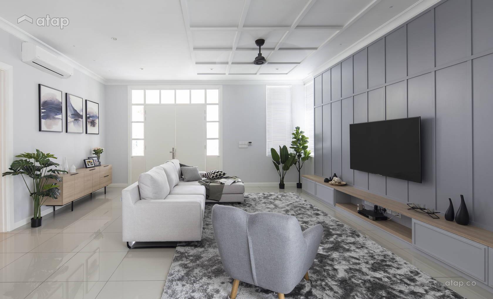 Classic Country Living Room @ Setia Eco Park, Shah Alam