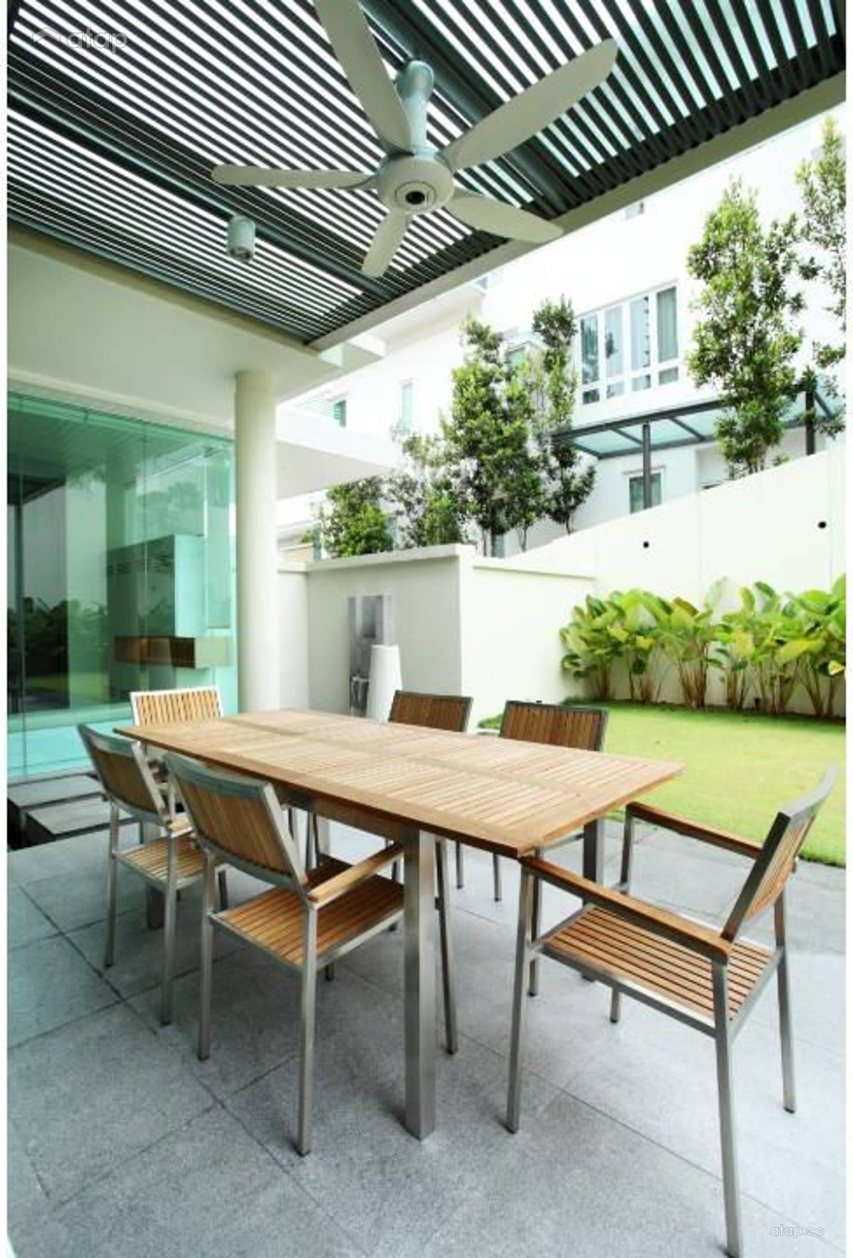 Contemporary Modern Garden @ The Residence