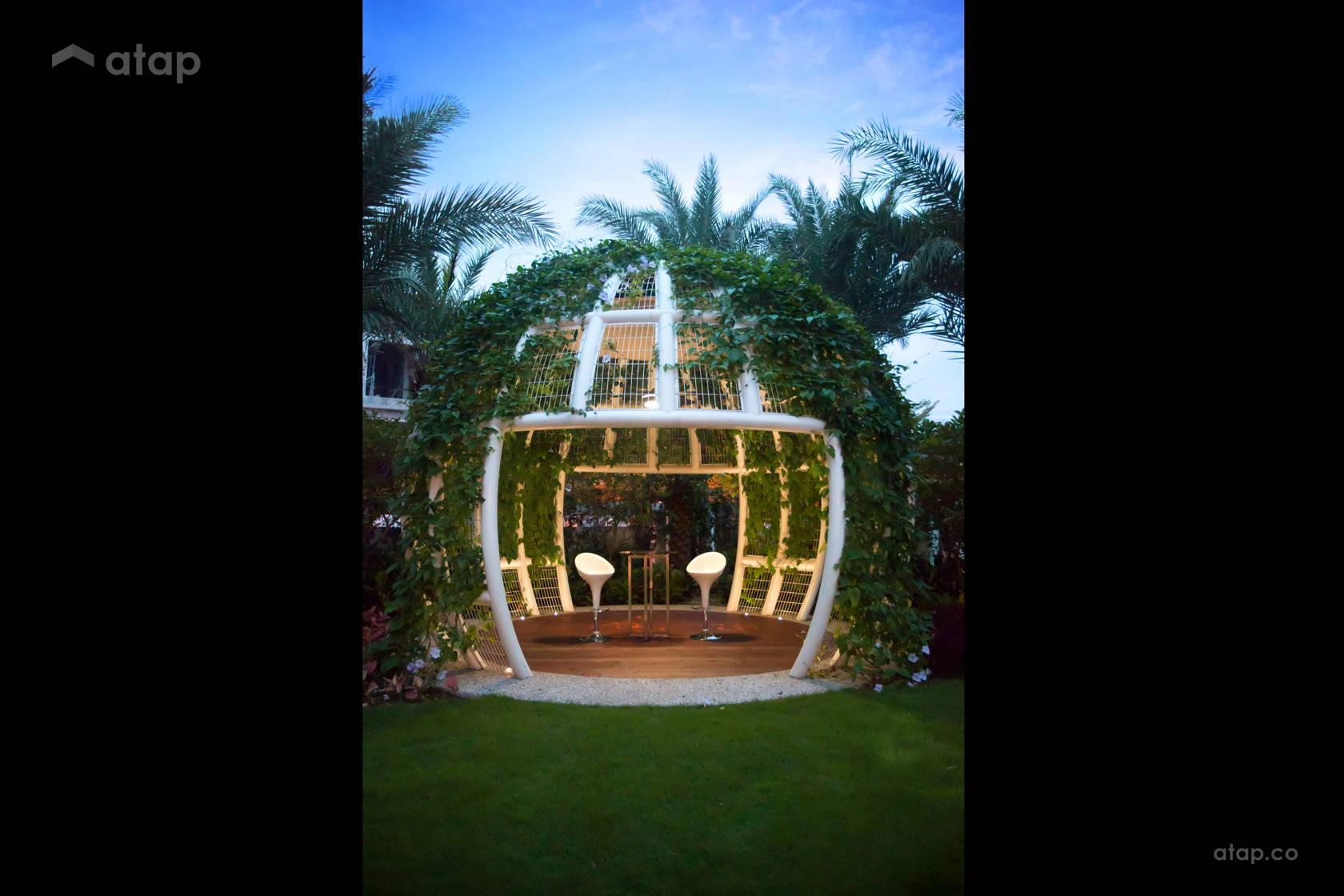 Contemporary Modern Exterior Garden @ Horizon Hills
