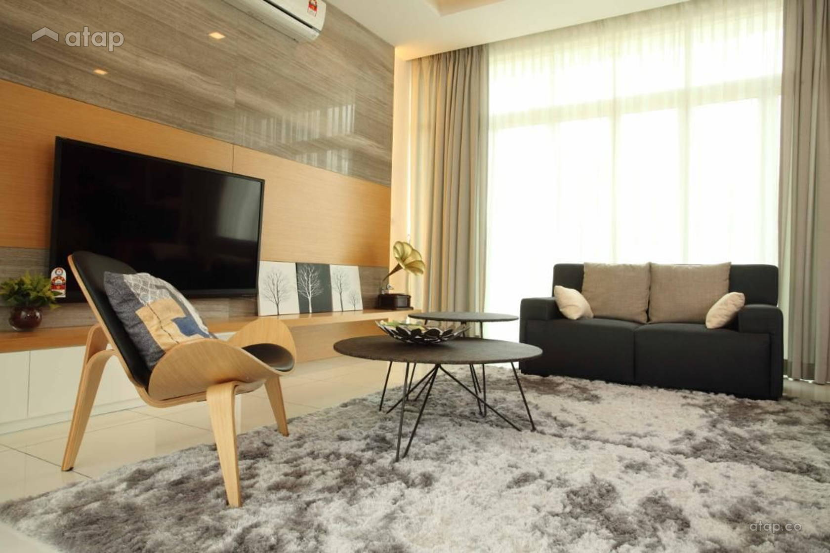 Contemporary Modern Living Room @ Setia Eco Park, Setia Alam
