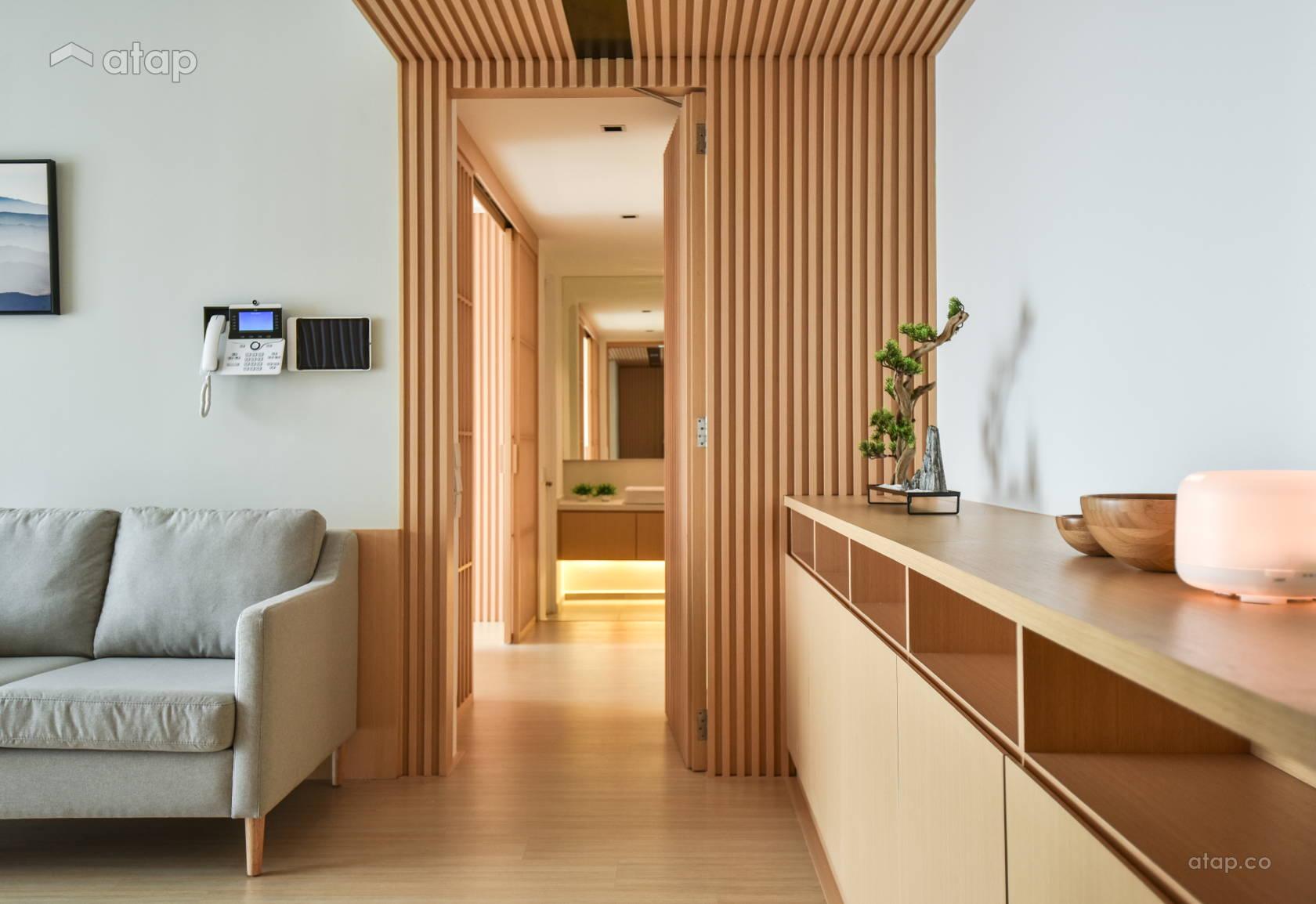 Minimalistic Modern Living Room @ Verdi Condominium, Cyberjaya