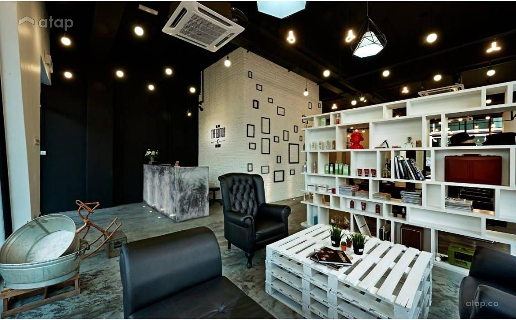 The Editor Hair Salon Ground Floor Interior Design Renovation ...