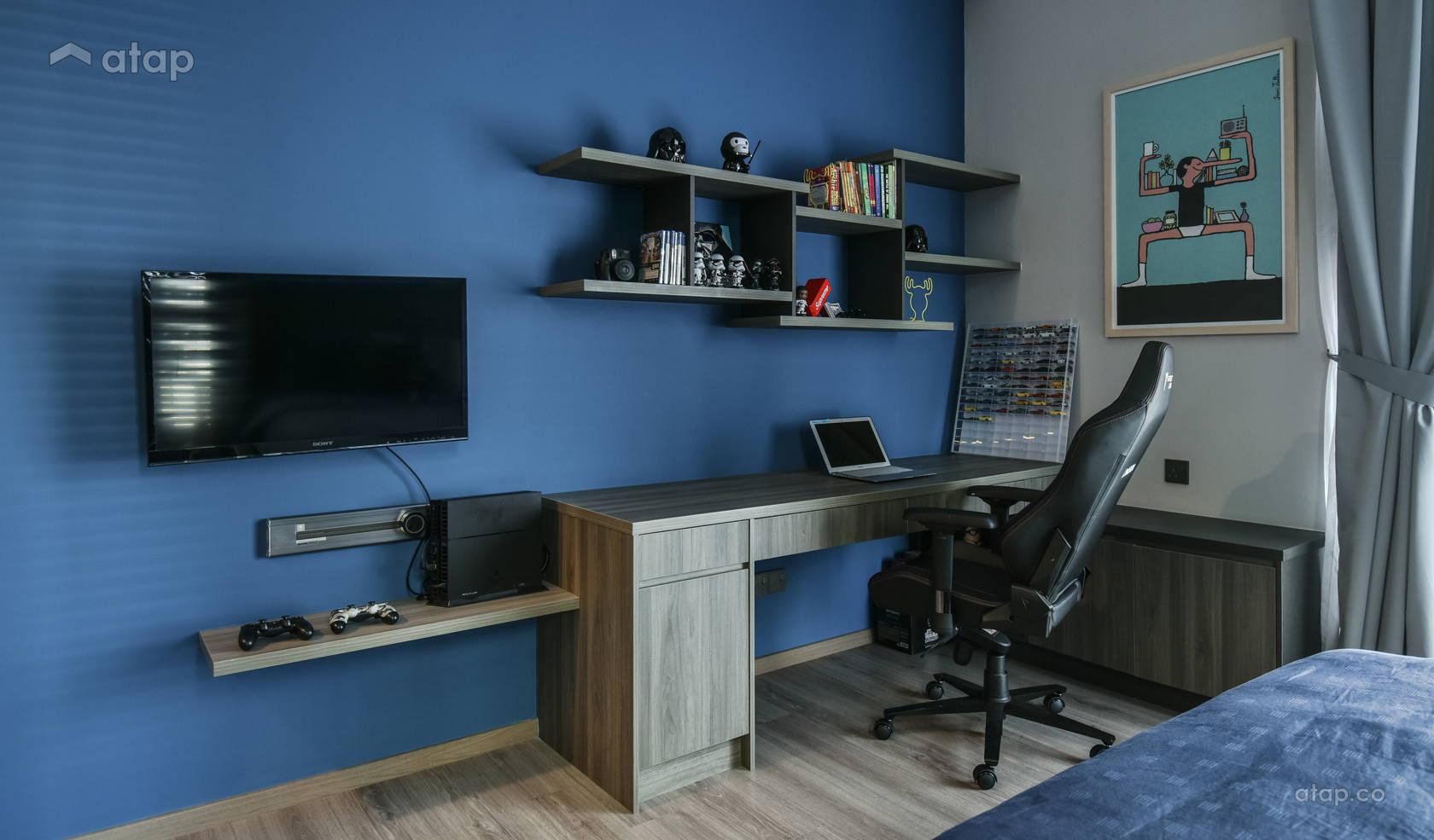 Contemporary Modern Bedroom @ Anjali Residence Family Home
