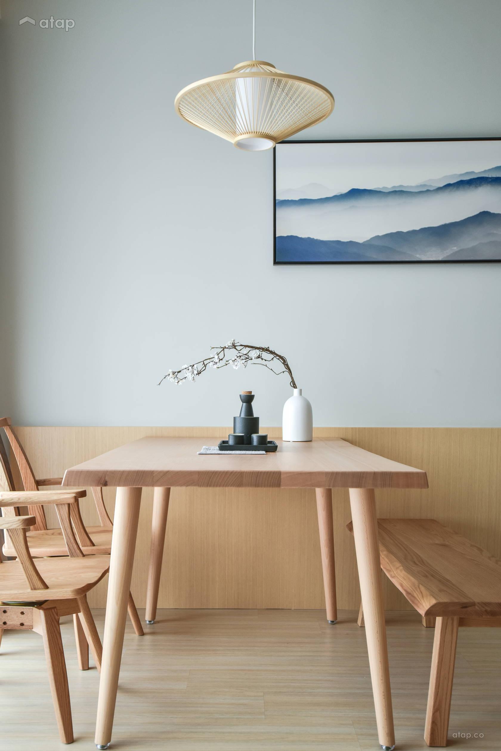 Minimalistic Zen Dining Room @ Verdi Condominium, Cyberjaya
